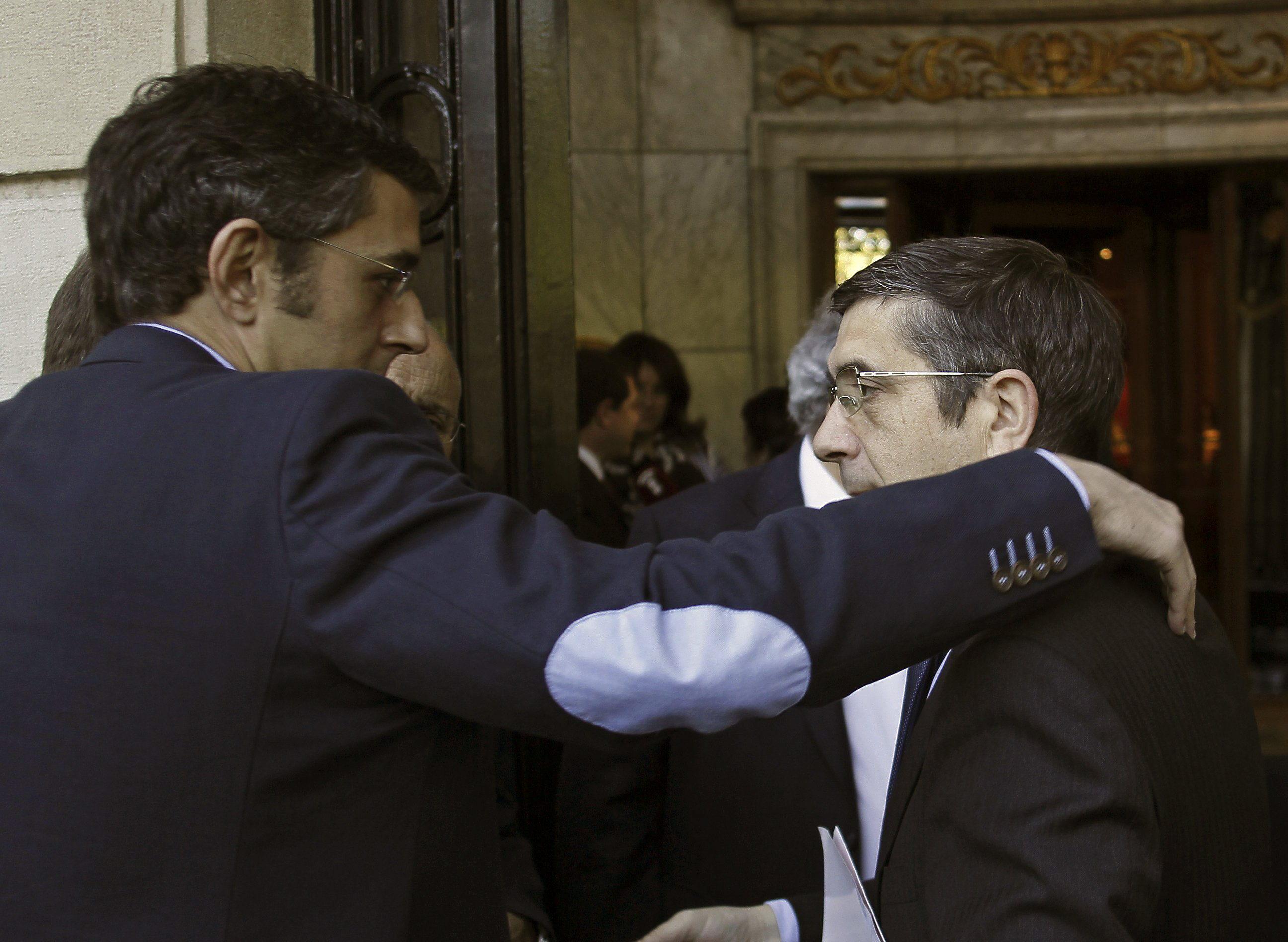 Patxi López ve «muy difícil» un acuerdo mañana de los partidos vascos