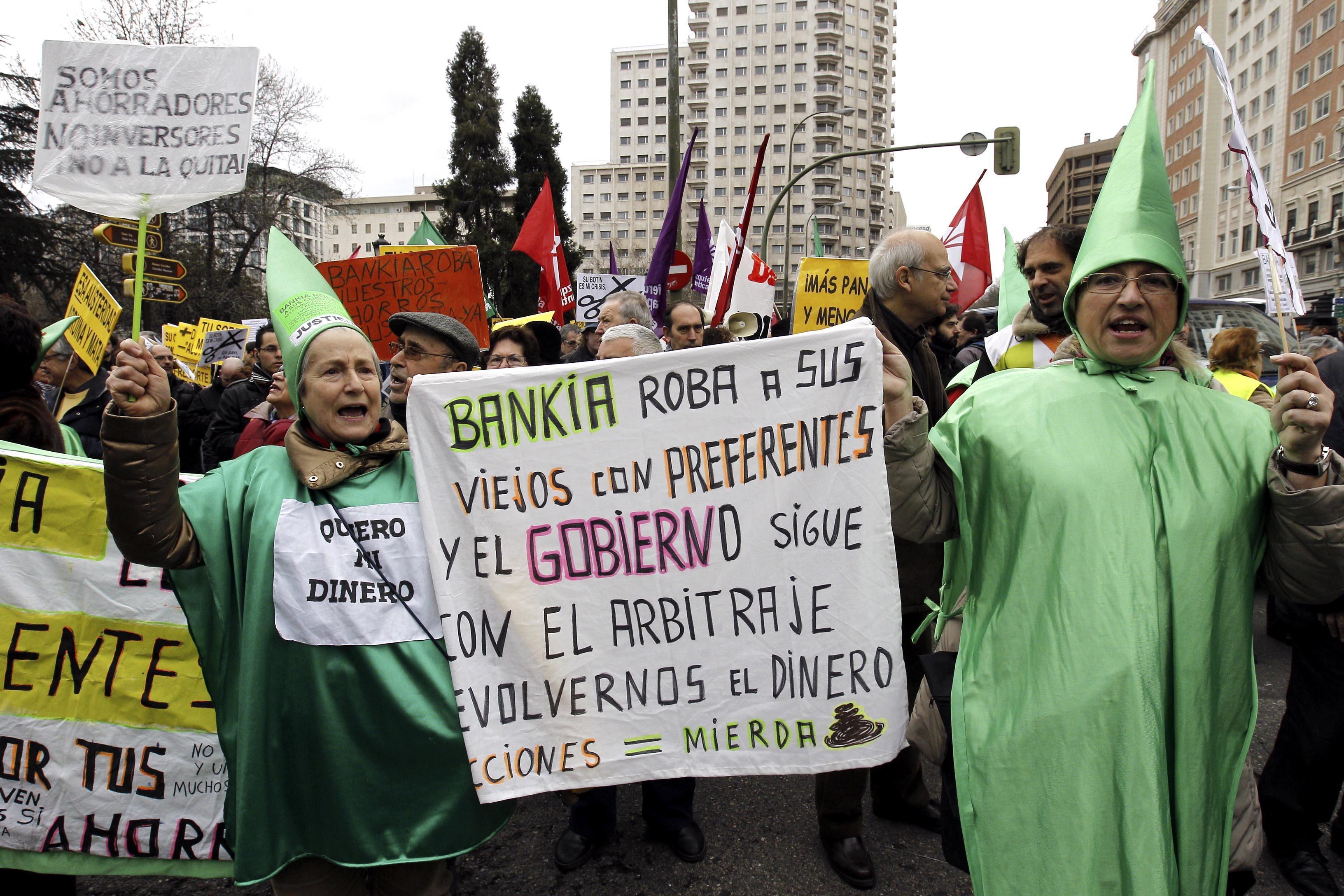 Más de 63.600 clientes de Bankia han pedido el arbitraje por las preferentes