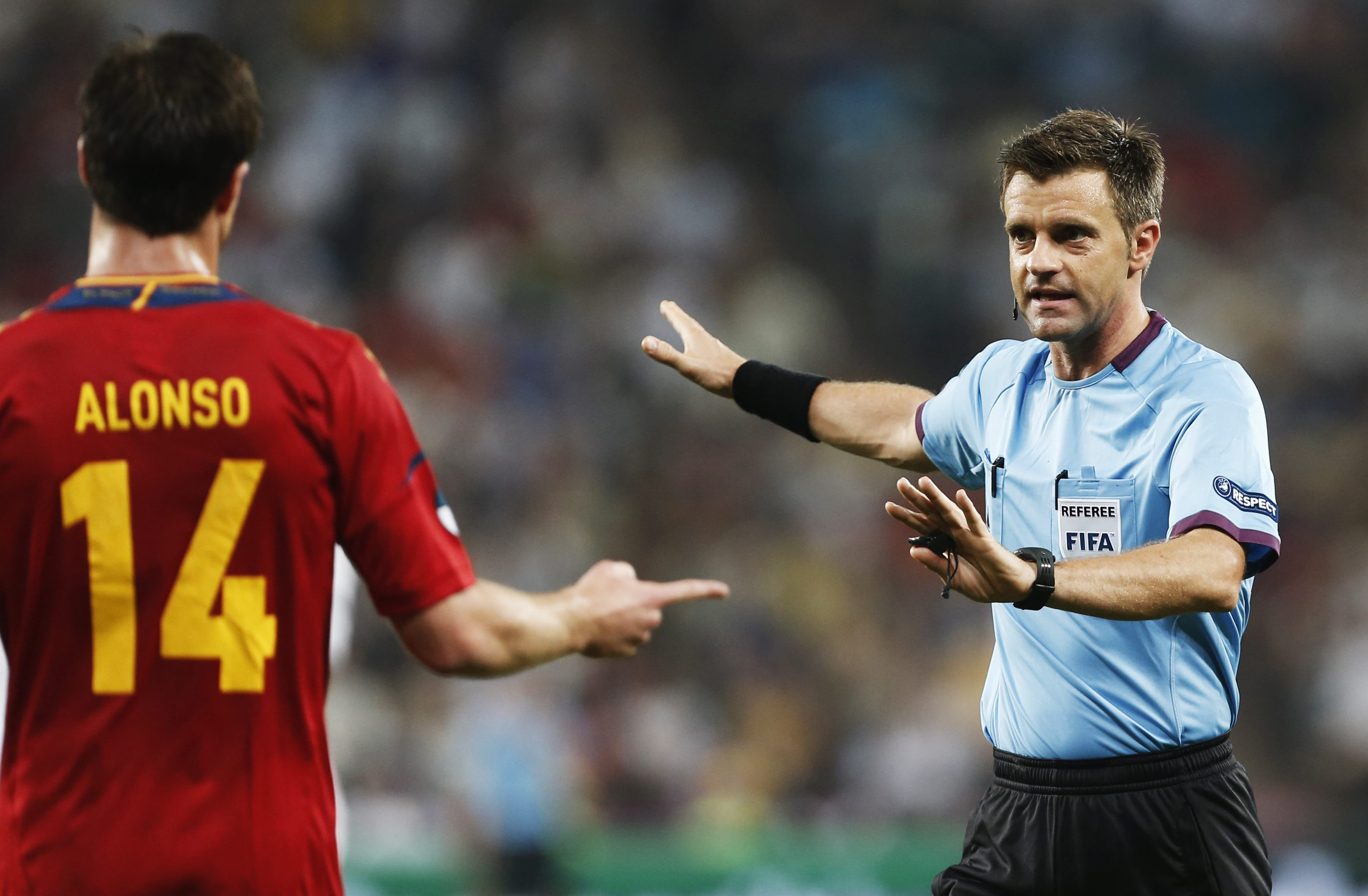 El italiano Rizzoli, árbitro de la final