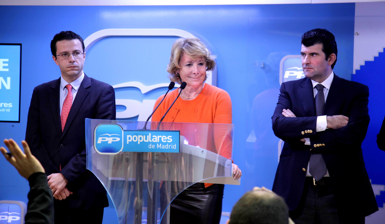Aguirre pide acabar con «neolengua de ideólogos socialistas» y «recuperar castellano» para llamar a cosas por su nombre