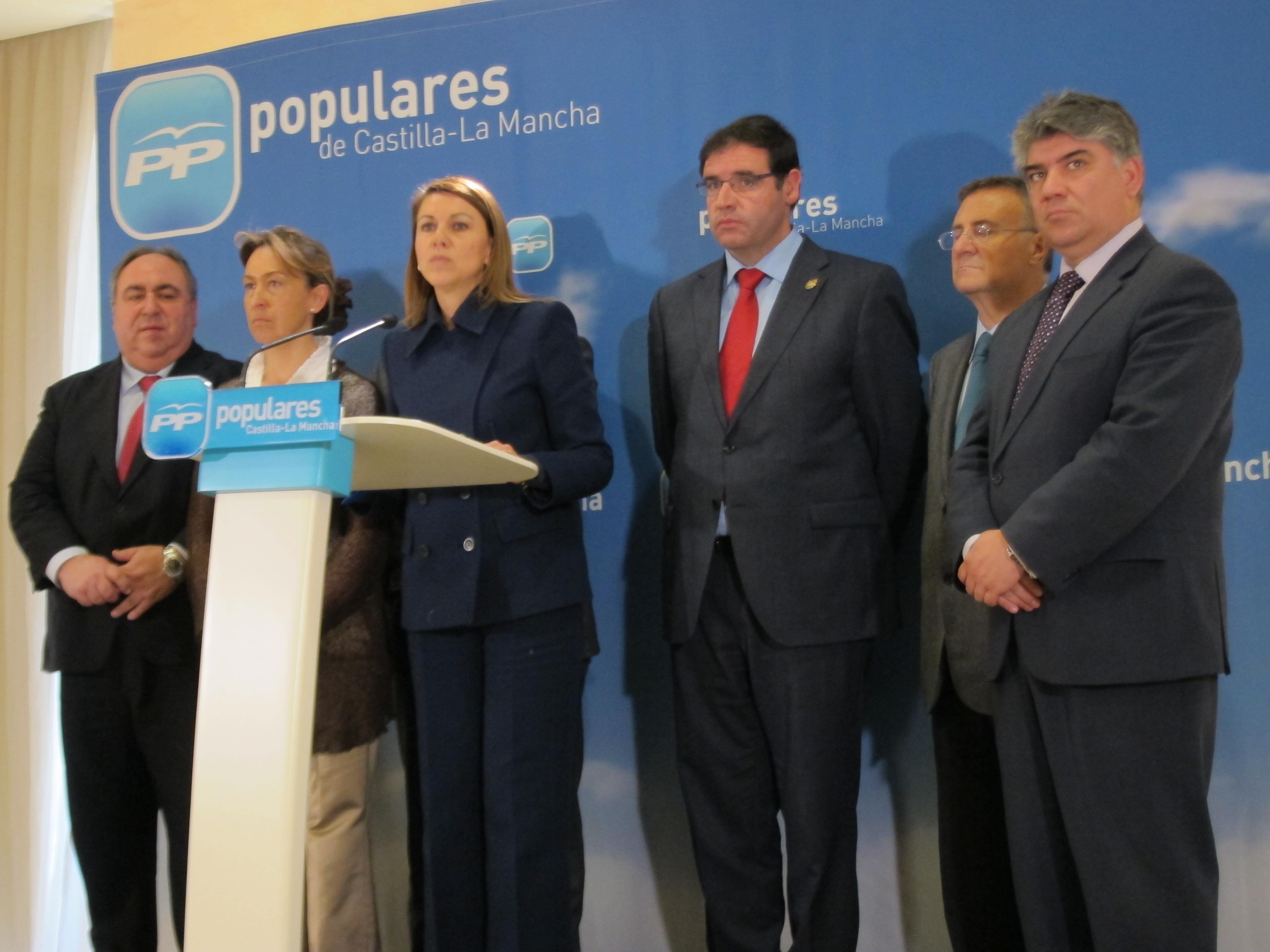 Cospedal está «convencida» de que la legislatura terminará en Castilla-La Mancha «creando empleo y creciendo»