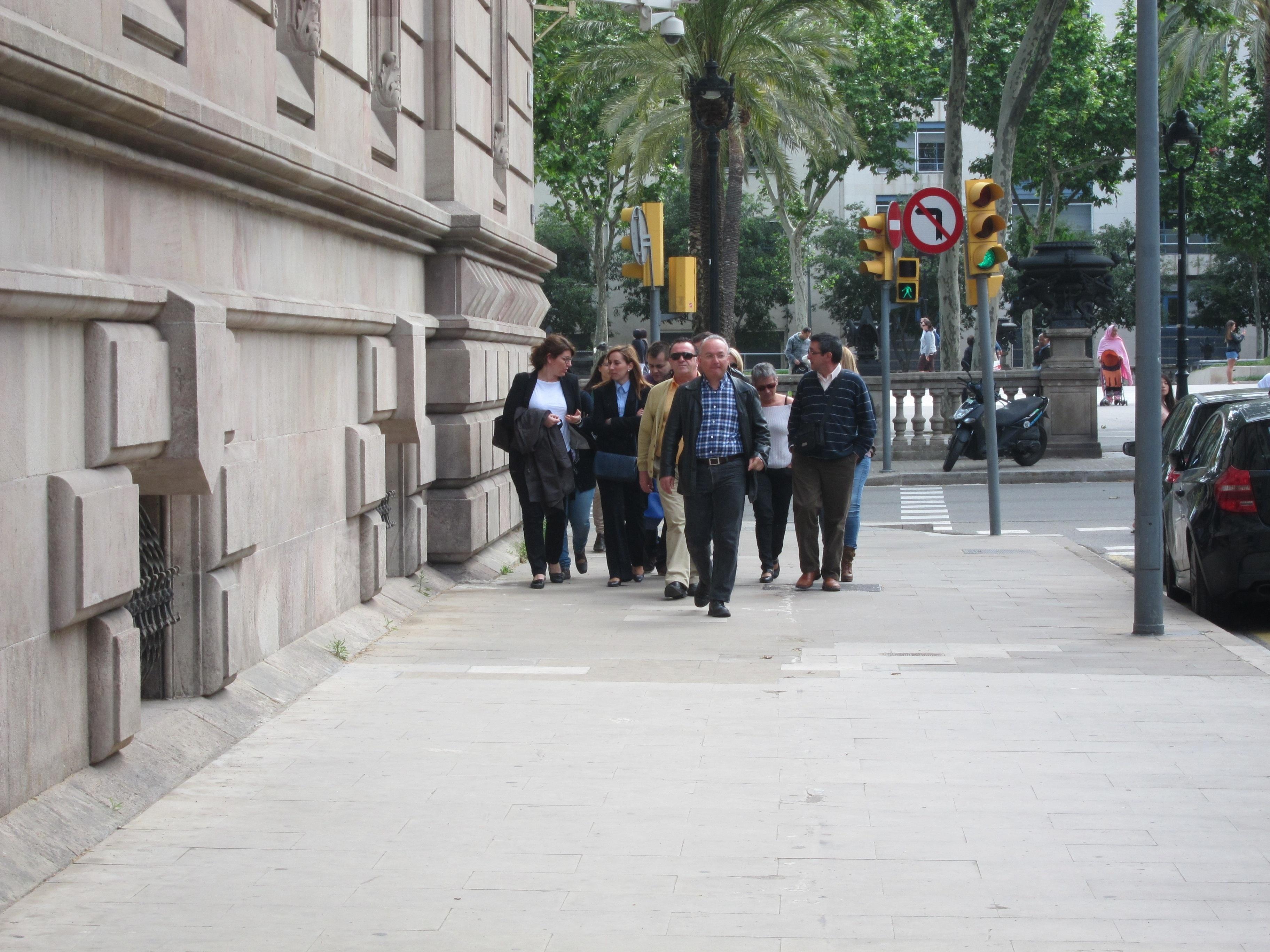 El diputado Daniel Fernández (PSC) y los hermanos Bustos declaran este martes ante el TSJC