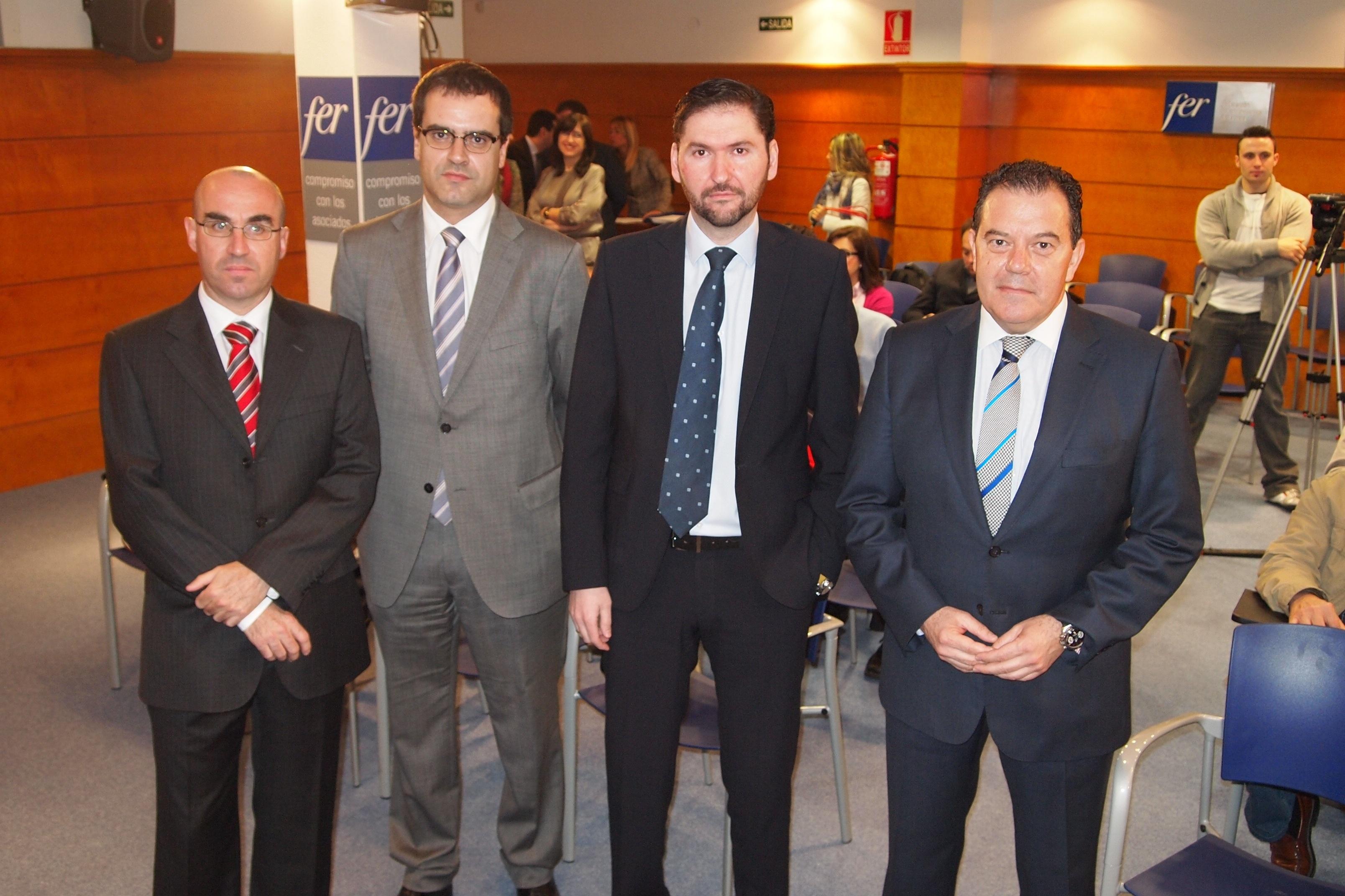 Javier Ureña anima a las empresas riojanas a que aprovechen las oportunidades de financiación que ofrece la ADER