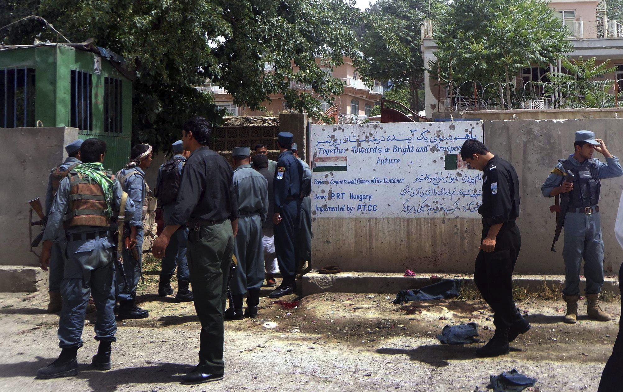 Mueren siete policías afganos al explotar una bomba en el oeste de Afganistán
