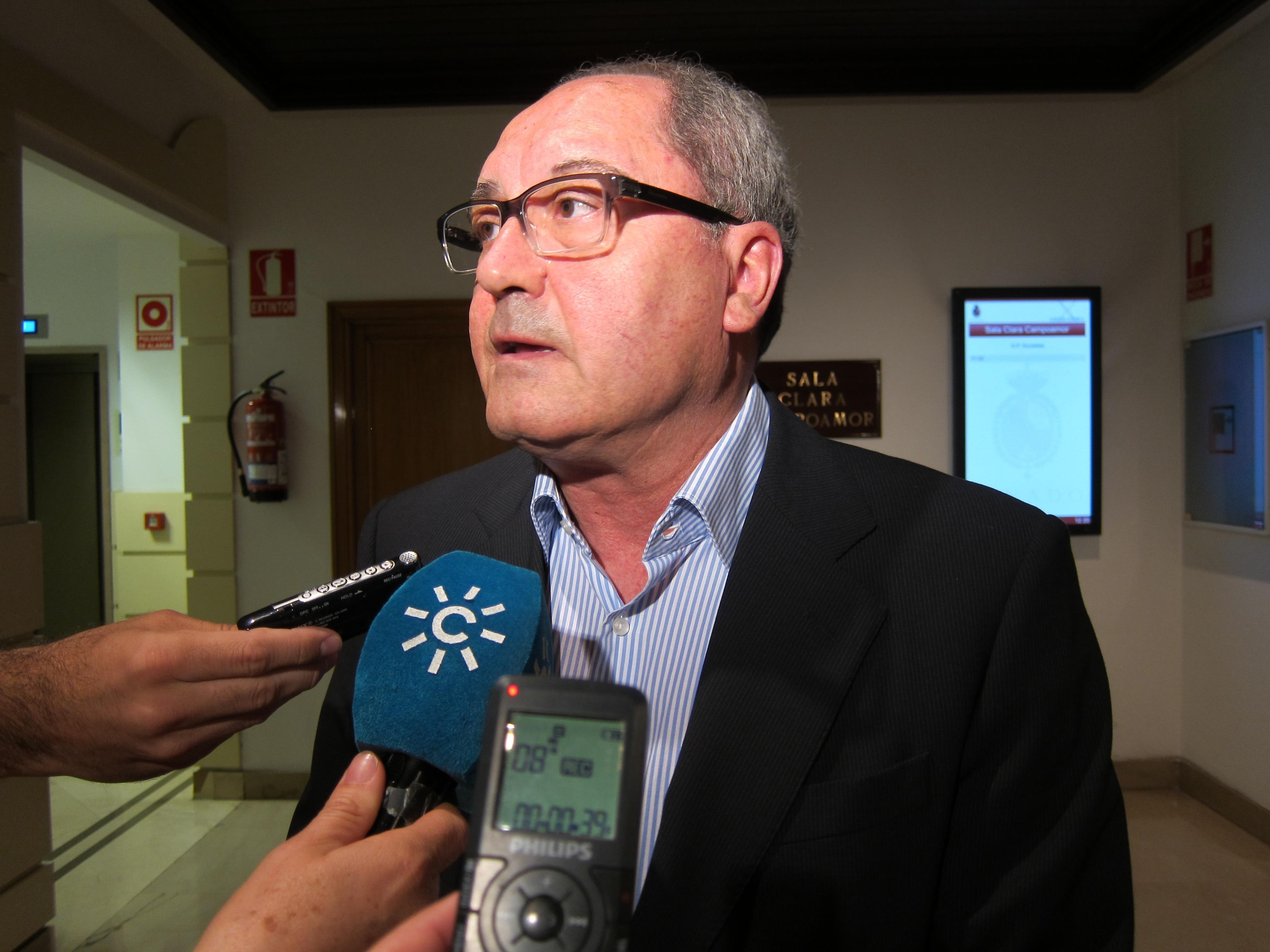 El PSOE-A pide a De Guindos que aclare si el memorando para el rescate a la banca resta autonomía a las regiones