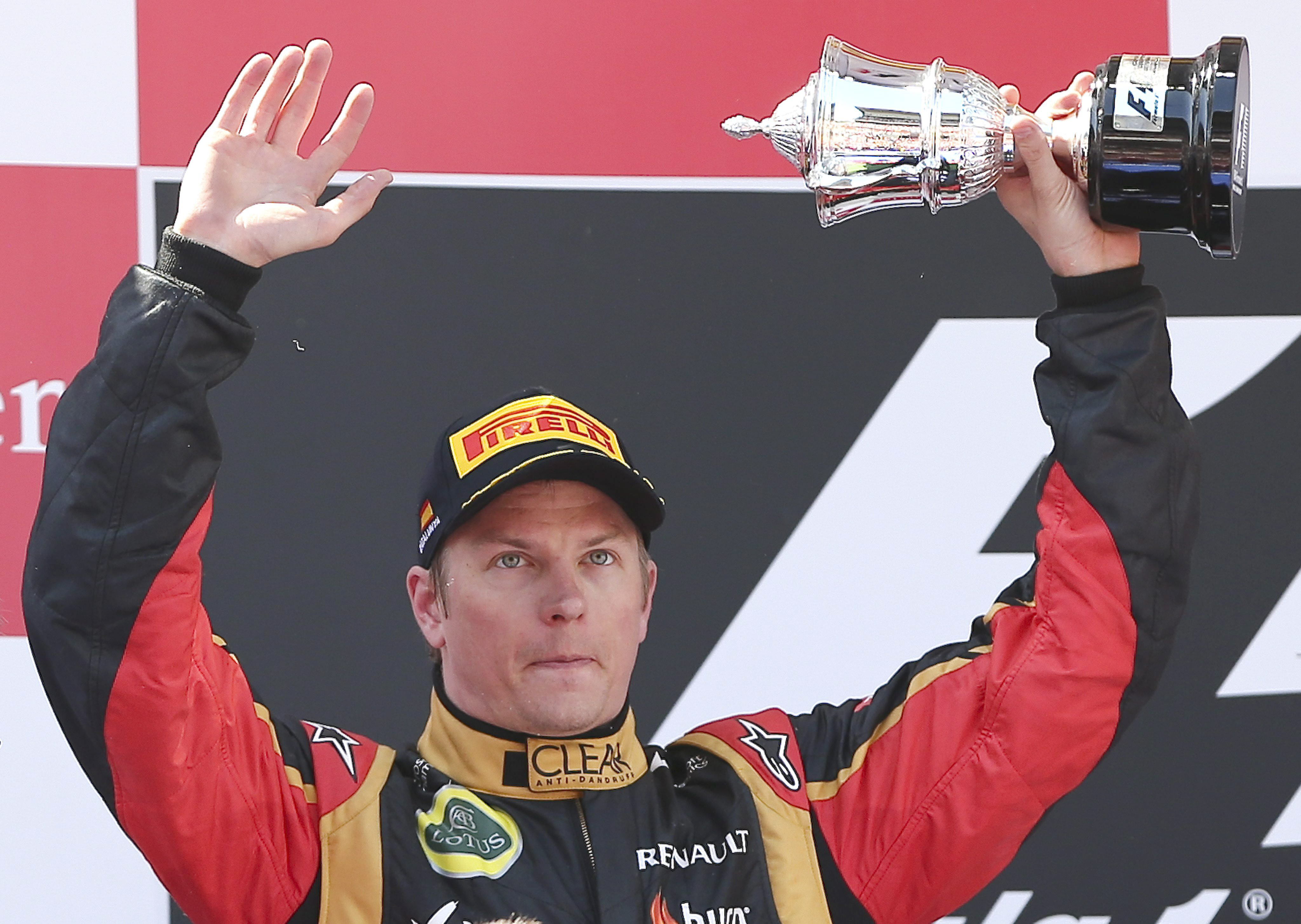 A Raikkonen no le sorprende su segundo puesto en el Mundial