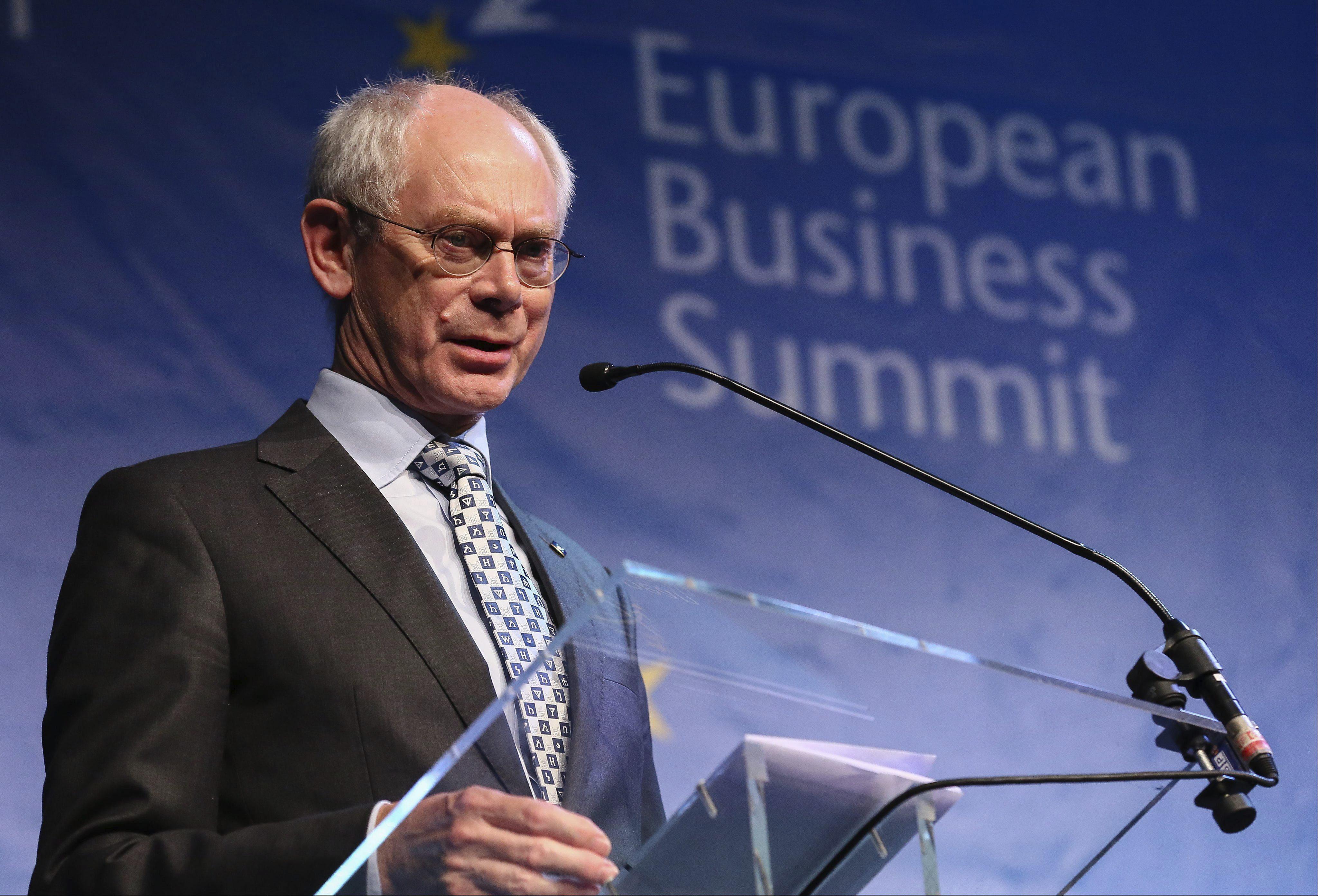 Van Rompuy pide a los líderes de la UE un esfuerzo contra la evasión fiscal