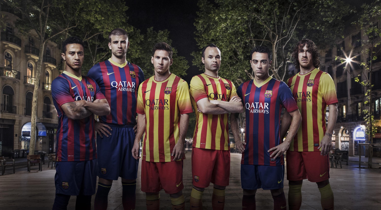 La camiseta del Barça recupera las franjas estrechas y la »Senyera» se estrena como segunda equipación
