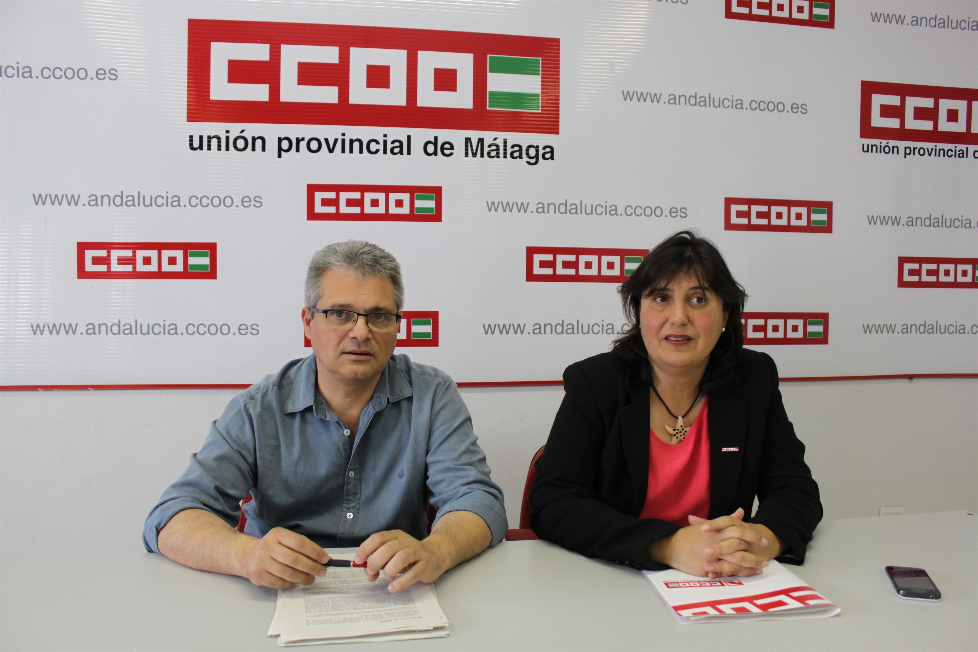 CCOO advierte de que la reforma de la Administración Local destruirá 11.000 empleos municipales en la provincia