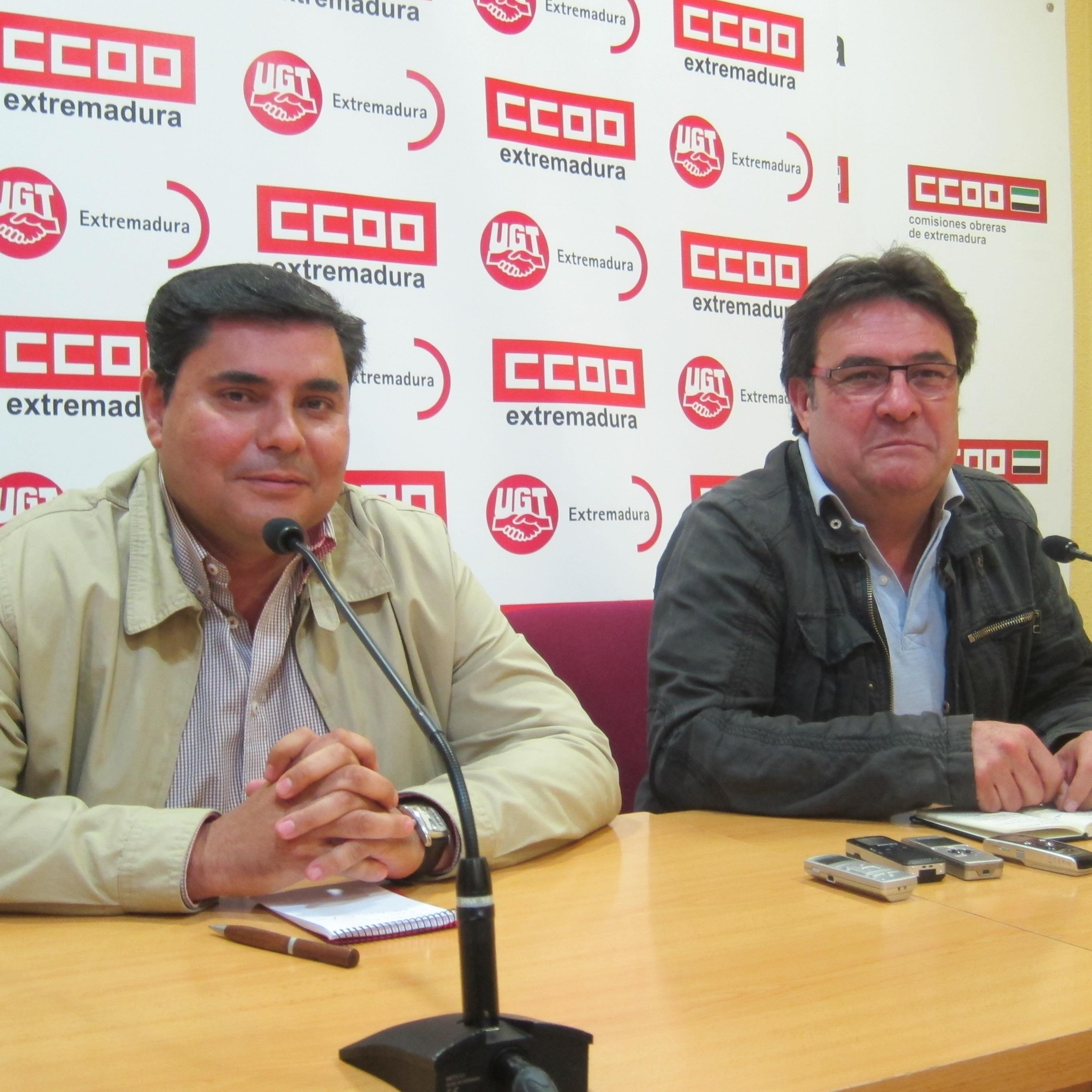 CCOO y UGT piden a Monago una mesa «específica» que debata sobre el futuro de los fondos de la UE hasta 2020