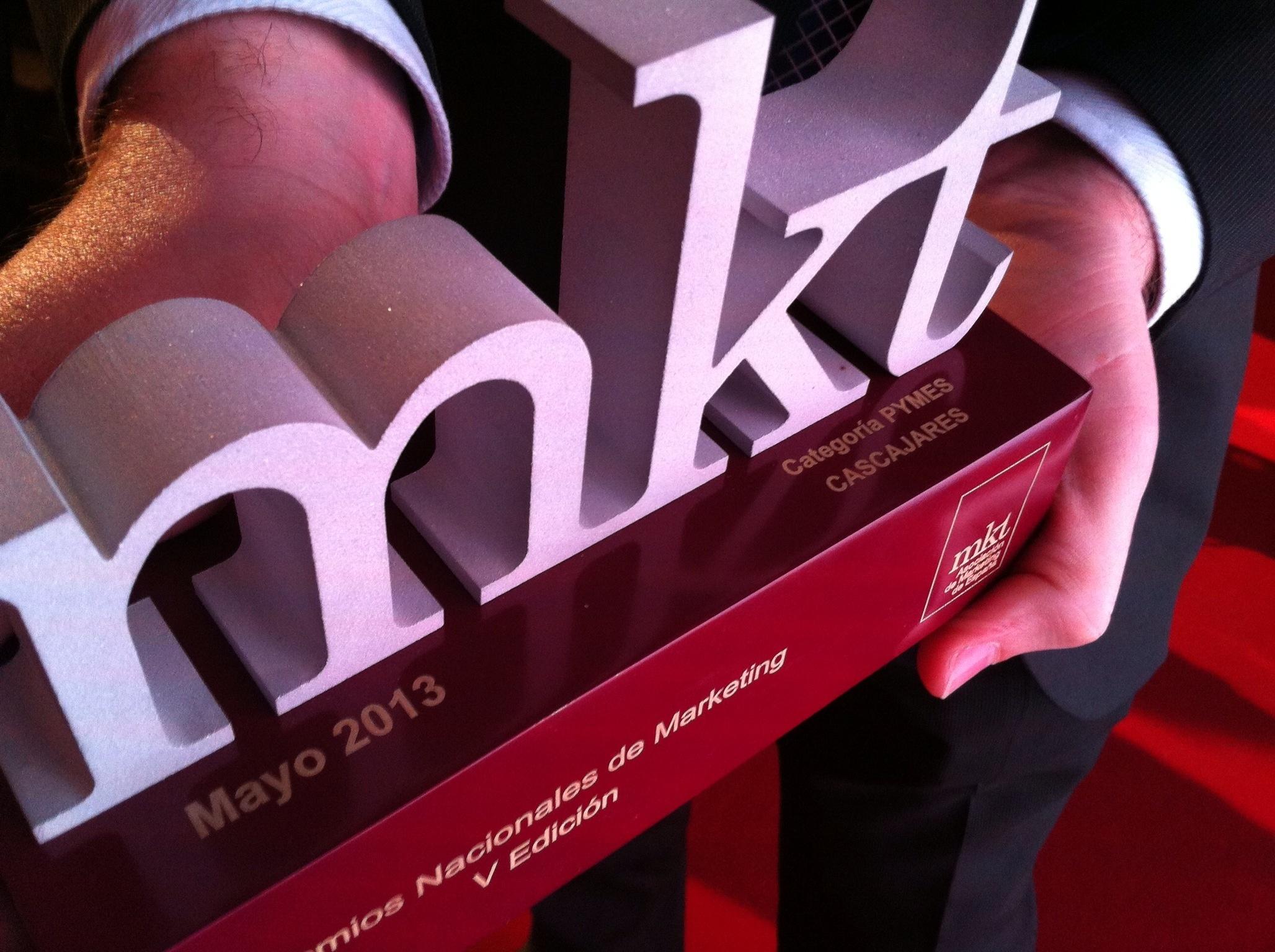Cascajares, Premio Nacional de Marketing 2013 a la mejor Pyme