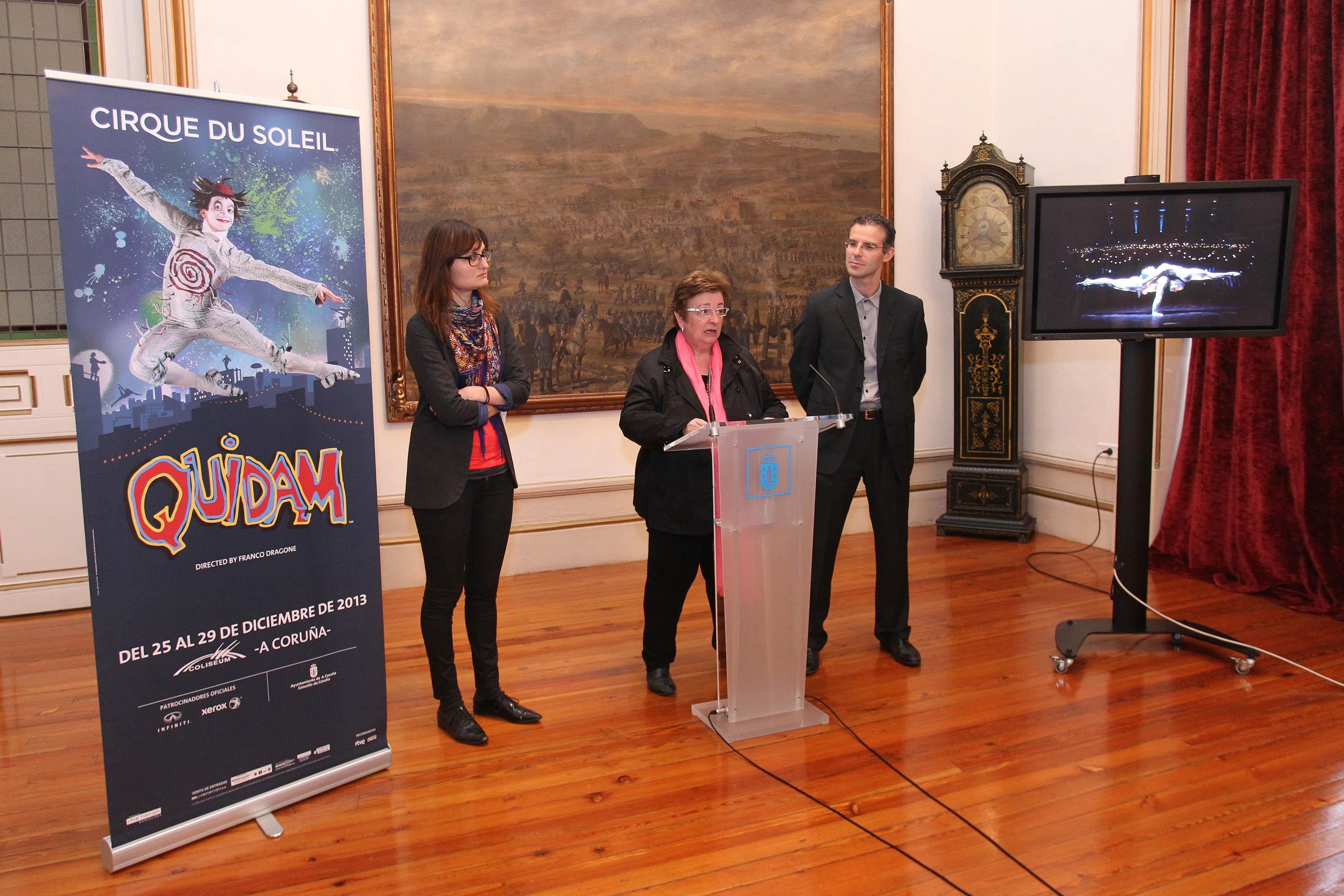 El Circo del Sol ofrecerá 7 funciones del espectáculo »Quidam» en A Coruña