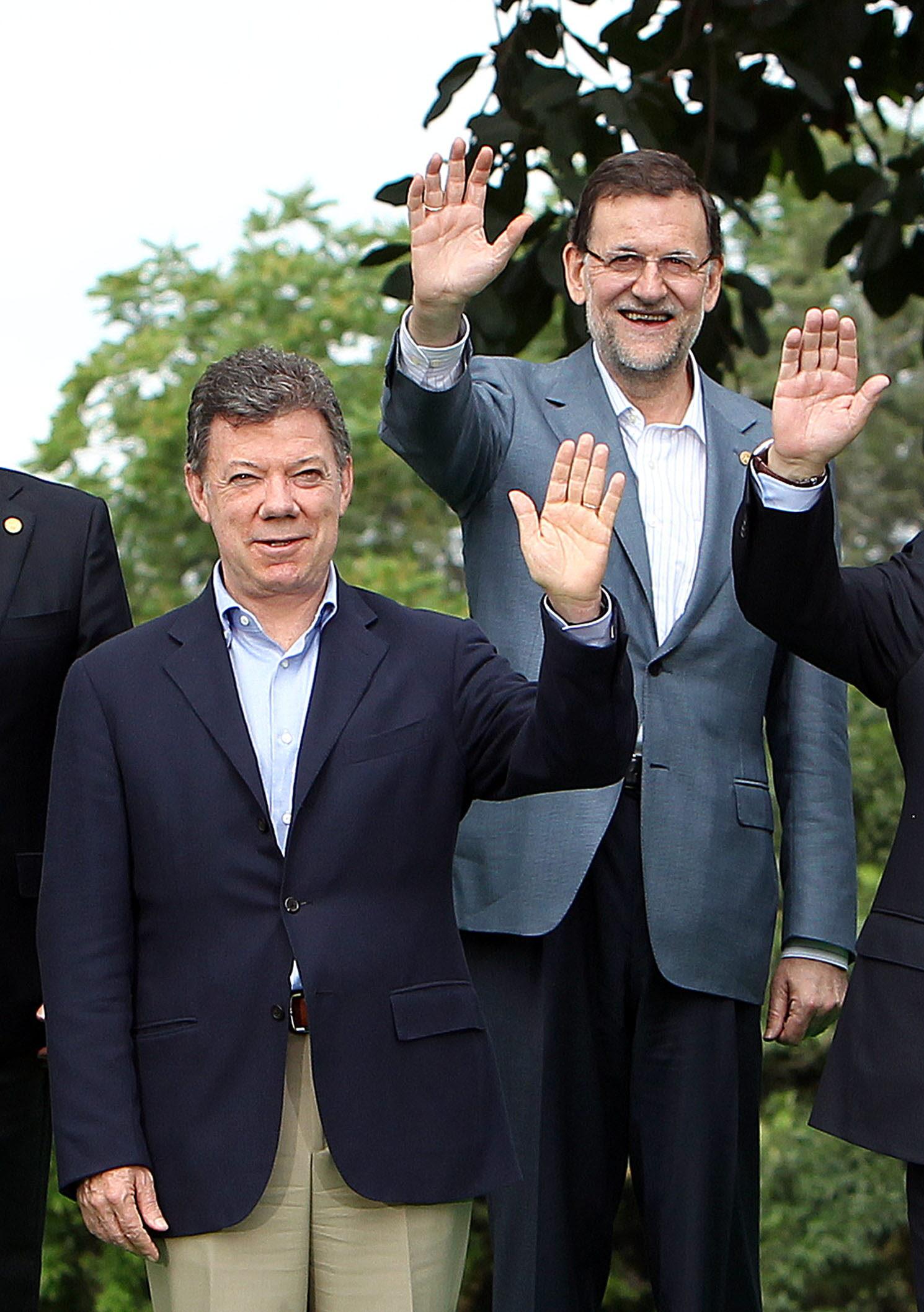 Colombia en «permanente contacto» con España por los secuestrados, según Santos