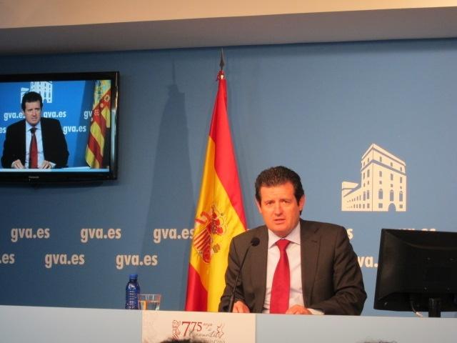La Generalitat condena las pintadas en casa del presidente de la AVL