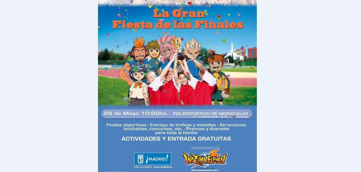 Inazuma Eleven celebra los XXXIII juegos deportivos municipales del ayuntamiento de Madrid