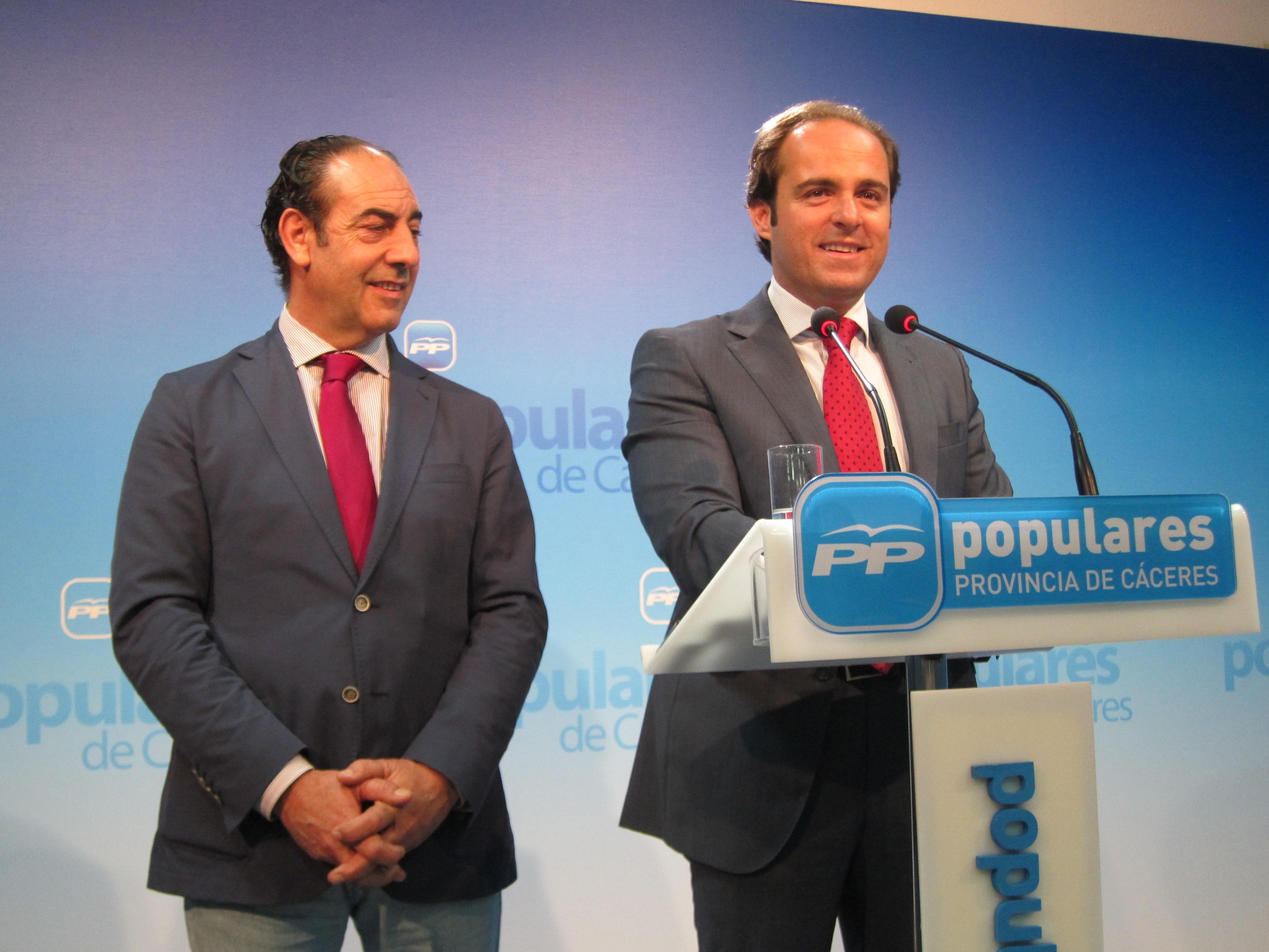 Monago defenderá en la reunión de presidentes con Rajoy que no haya un trato diferencial en cuanto al déficit