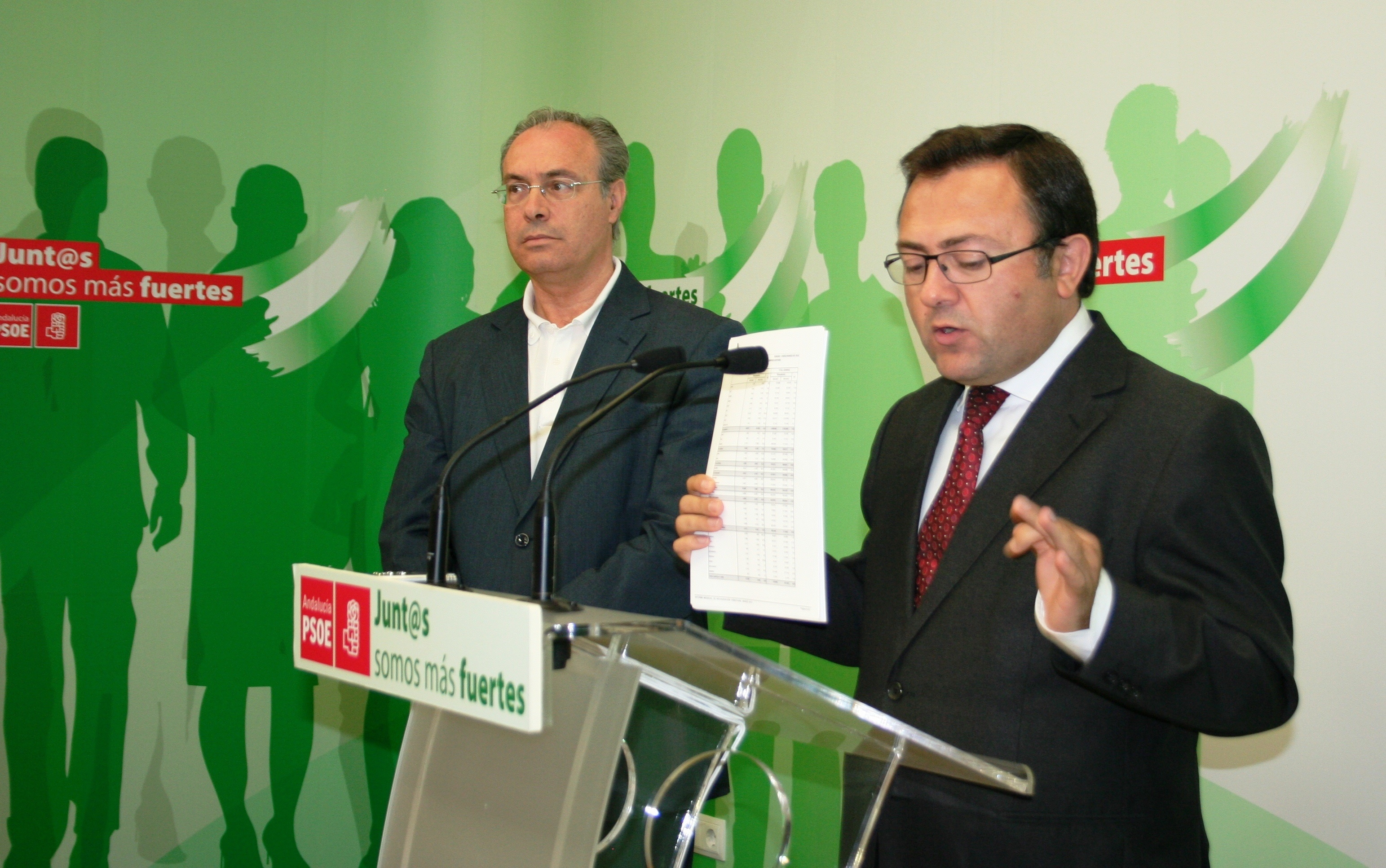 El PSOE-A reclama al Gobierno que apoye las iniciativas andaluzas contra el paro y la exclusión social