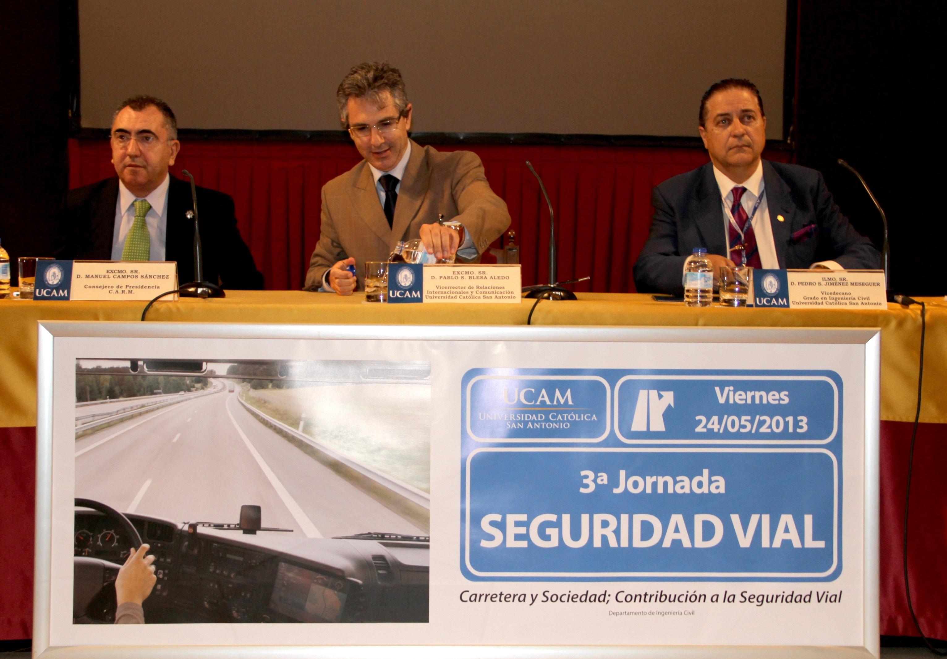 Pedro de los Santos Jiménez afirma que los accidentes de tráfico «son una de las máximas preocupaciones de la OMS»