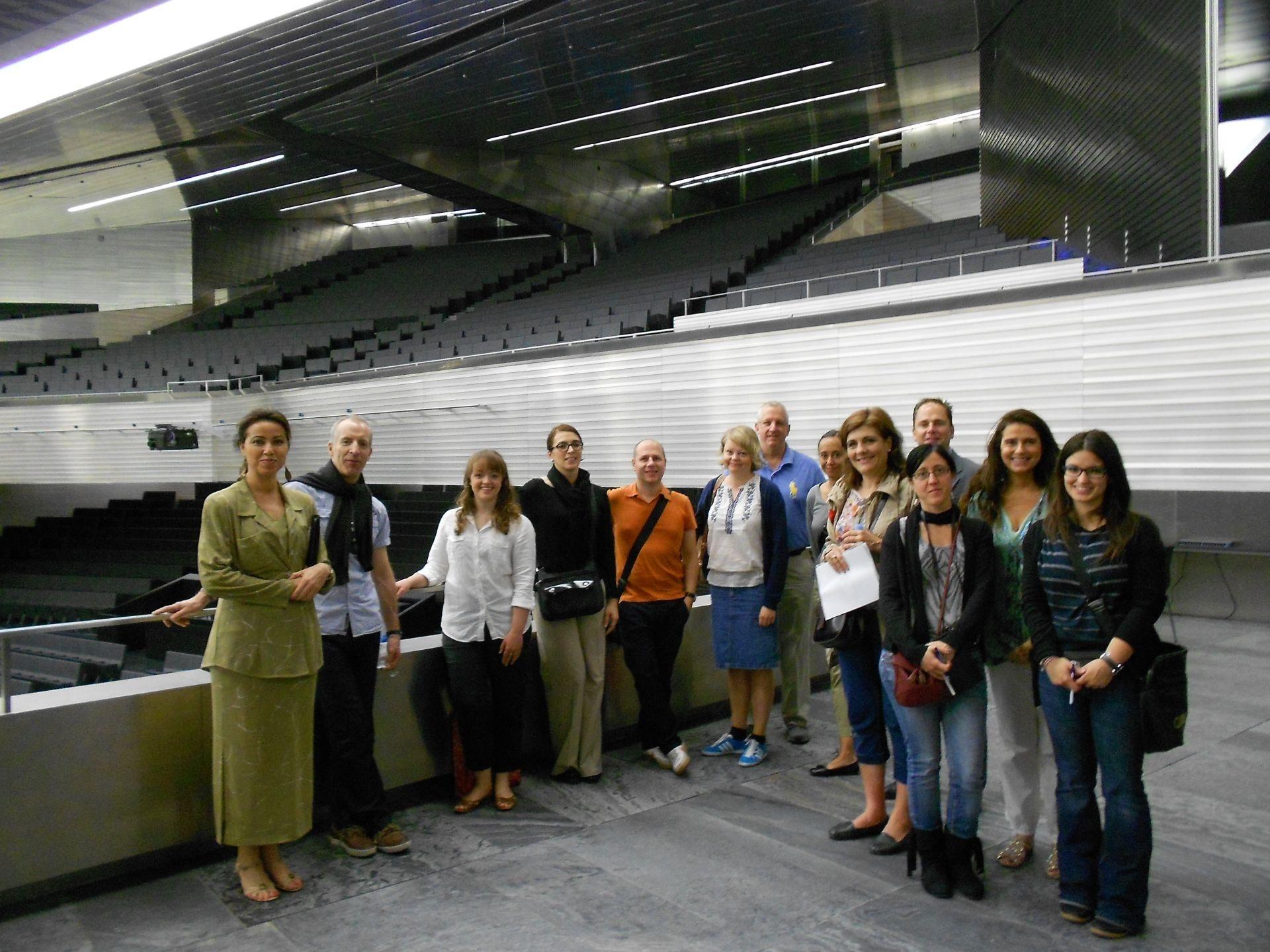 Periodistas de MICE visitan Fibes y el Nuevo Palacio de Congresos dentro de un Fam Trip