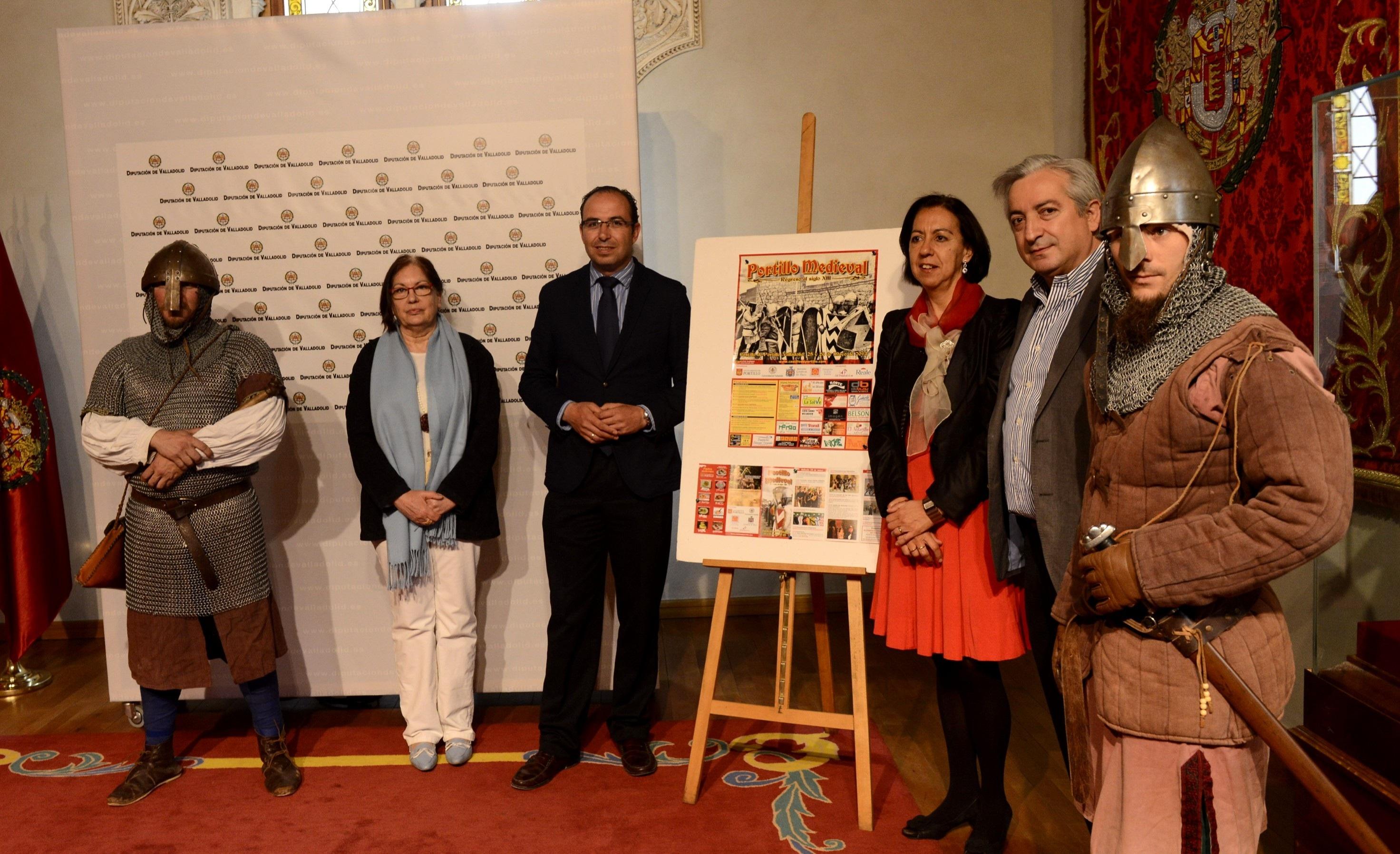 Portillo (Valladolid) celebra este fin de semana el IV encuentro medieval con vistas guiadas, conciertos y conferencias