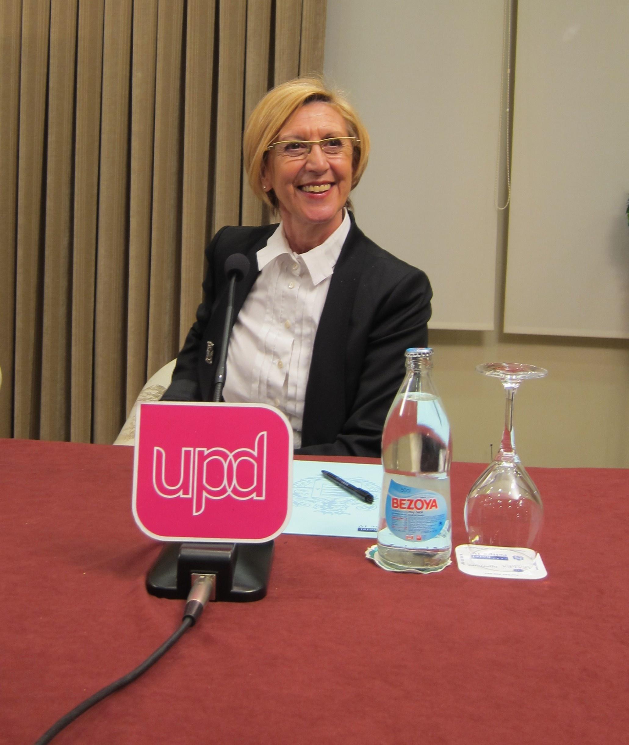 Rosa Díez insta a Torres-Dulce a la ilegalización de Bildu
