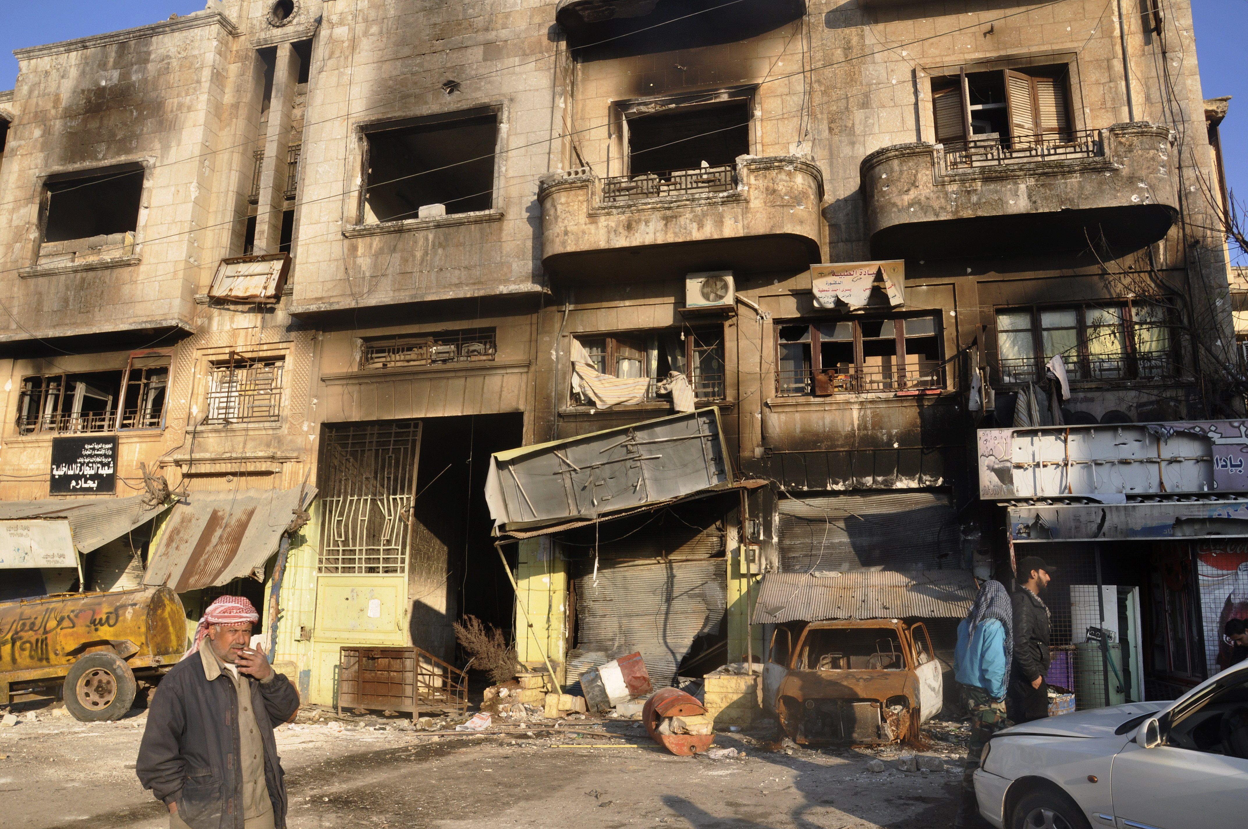 La oposición siria denuncia un nuevo ataque con armas químicas cerca de Damasco
