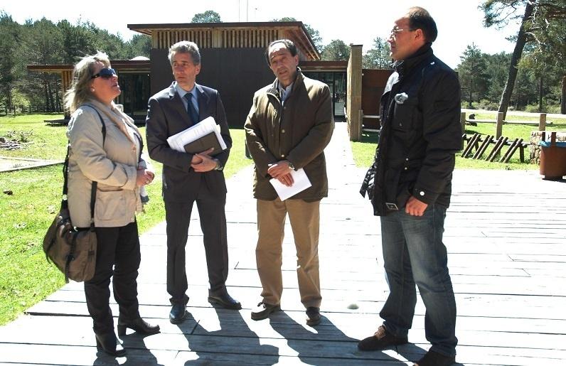 Las casas del parque de Soria reciben a más de 18.000 visitantes en los primeros meses de 2013