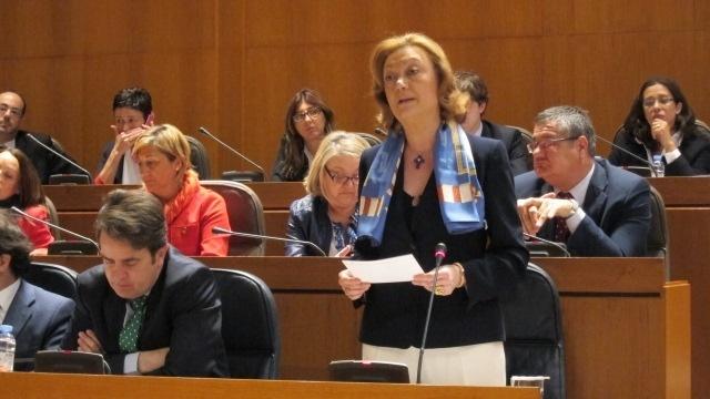 La presidenta del Gobierno de Aragón defiende la austeridad y avanza nuevas medidas sociales