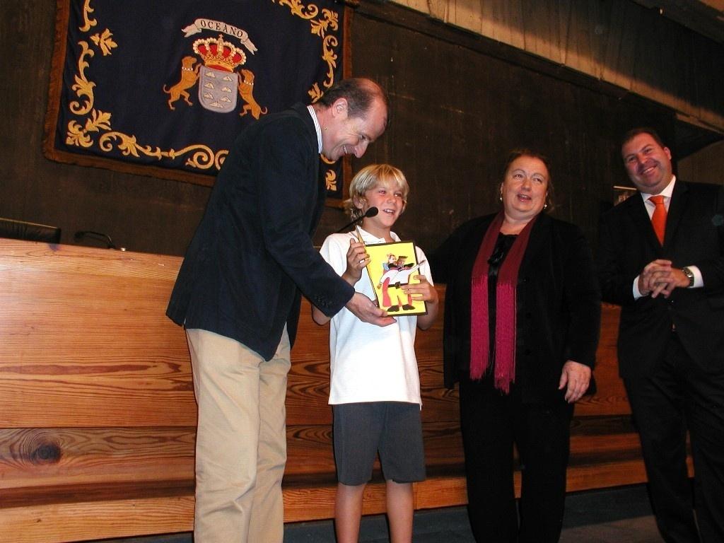 Un niño tinerfeño de 3º de Primaria visitará la Zarzuela para conocer al Rey