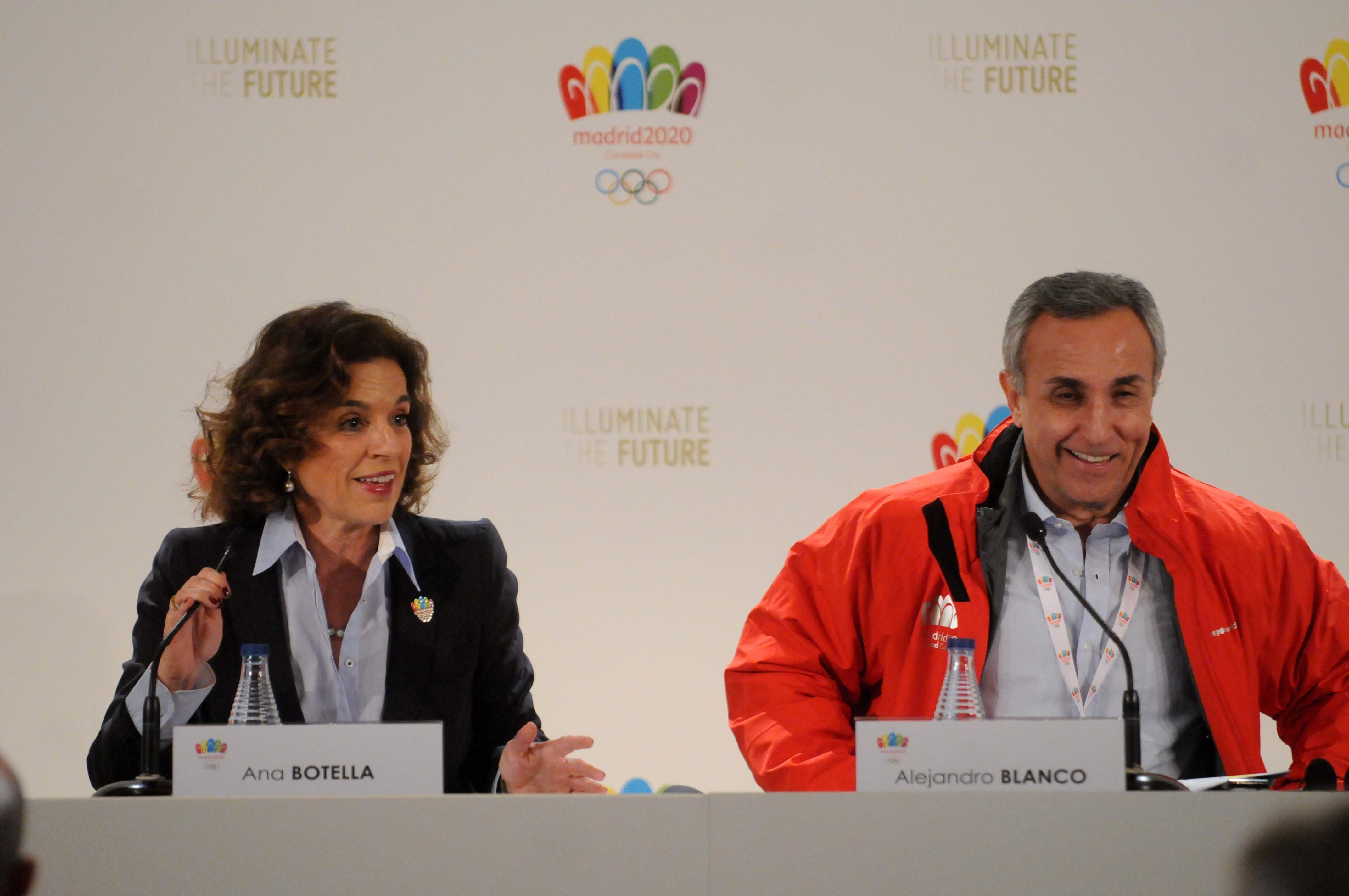 Botella y Blanco defenderán la candidatura en la SportAccord de en San Petersburgo, que se celebra del 28 al 31