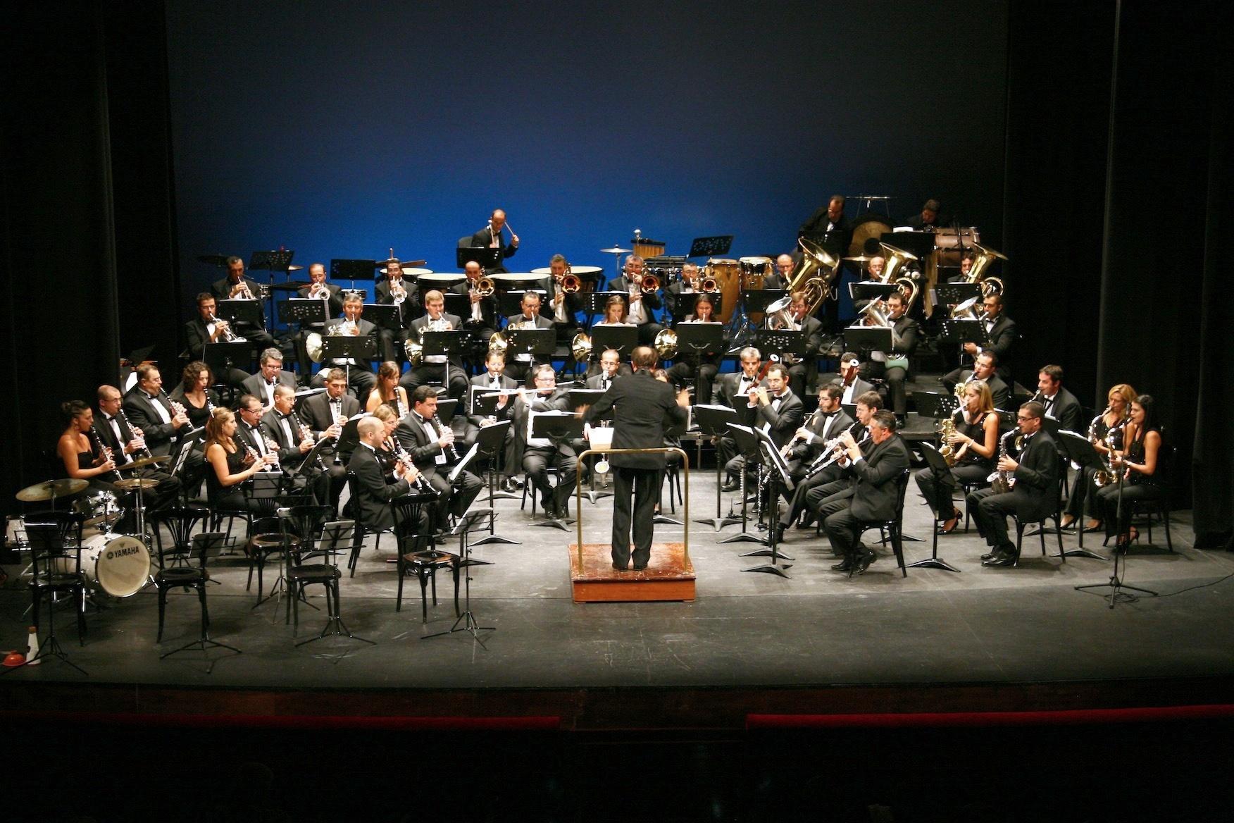 Las bandas de música de La Matanza, Tejina y Santa Cruz actúan en el Auditorio de Tenerife