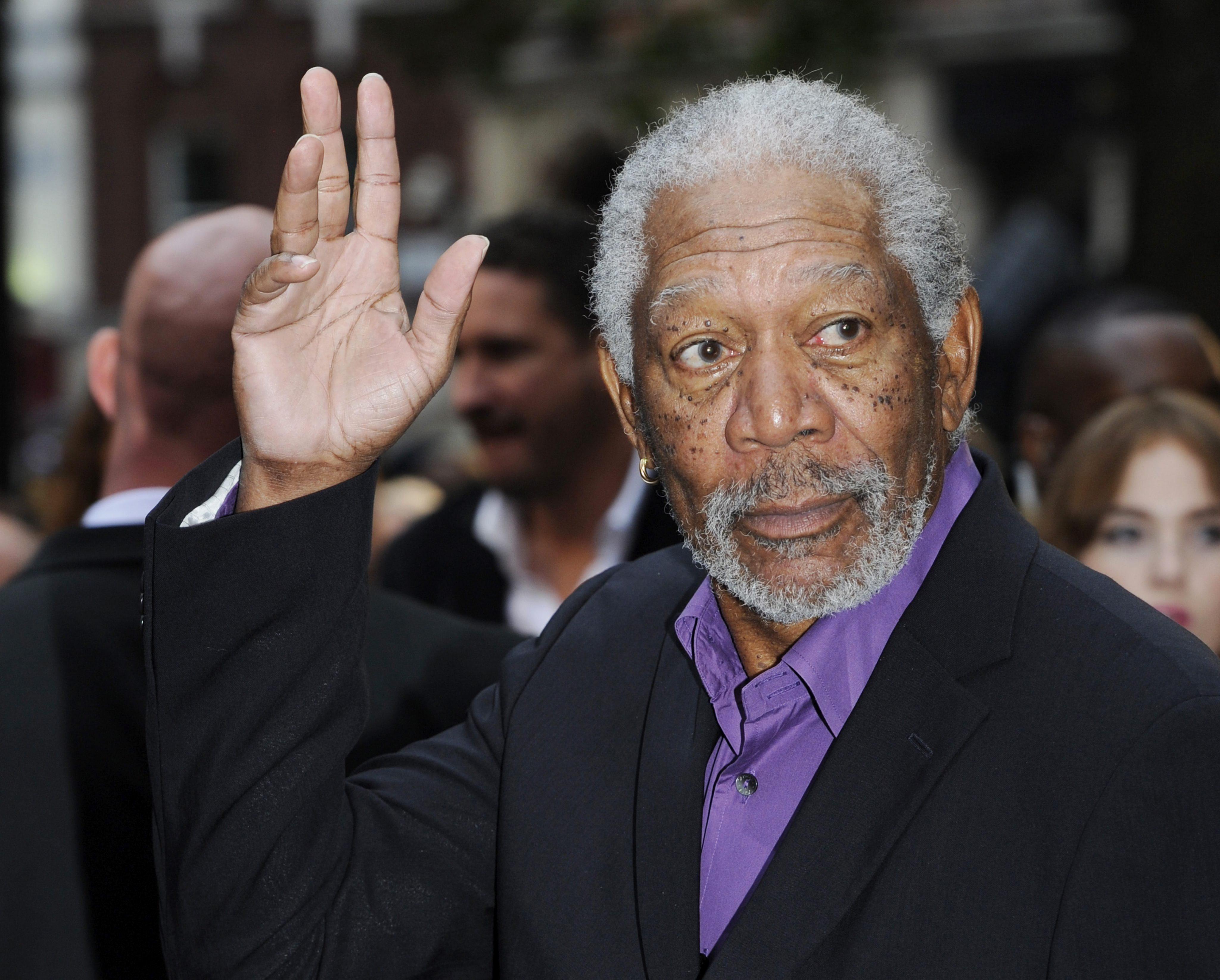 El actor Morgan Freeman dice que «si creo en el personaje, el público lo hará también»