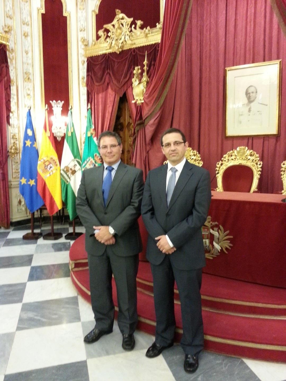 La Diputación intercambia experiencias sobre el Pfoea con las de Granada y Cádiz para mejorar su funcionamiento