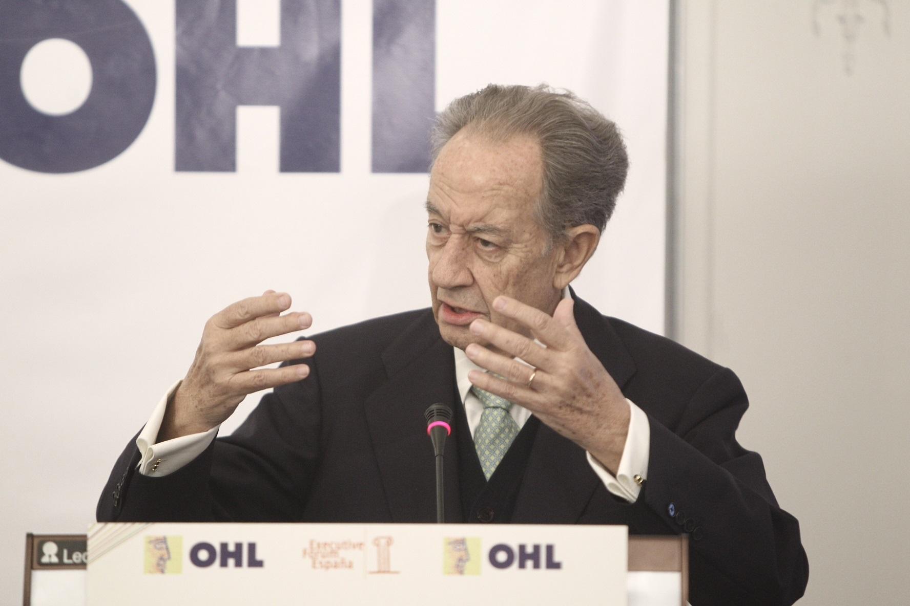 OHL paga mañana un dividendo de 0,6519 euros, un 16,4% superior al del pasado año