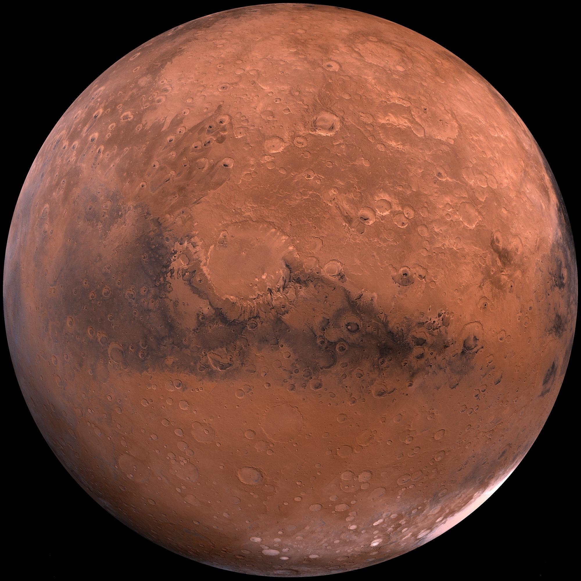 «Mars Express» ha permitido concluir casi por completo el mapa de Marte