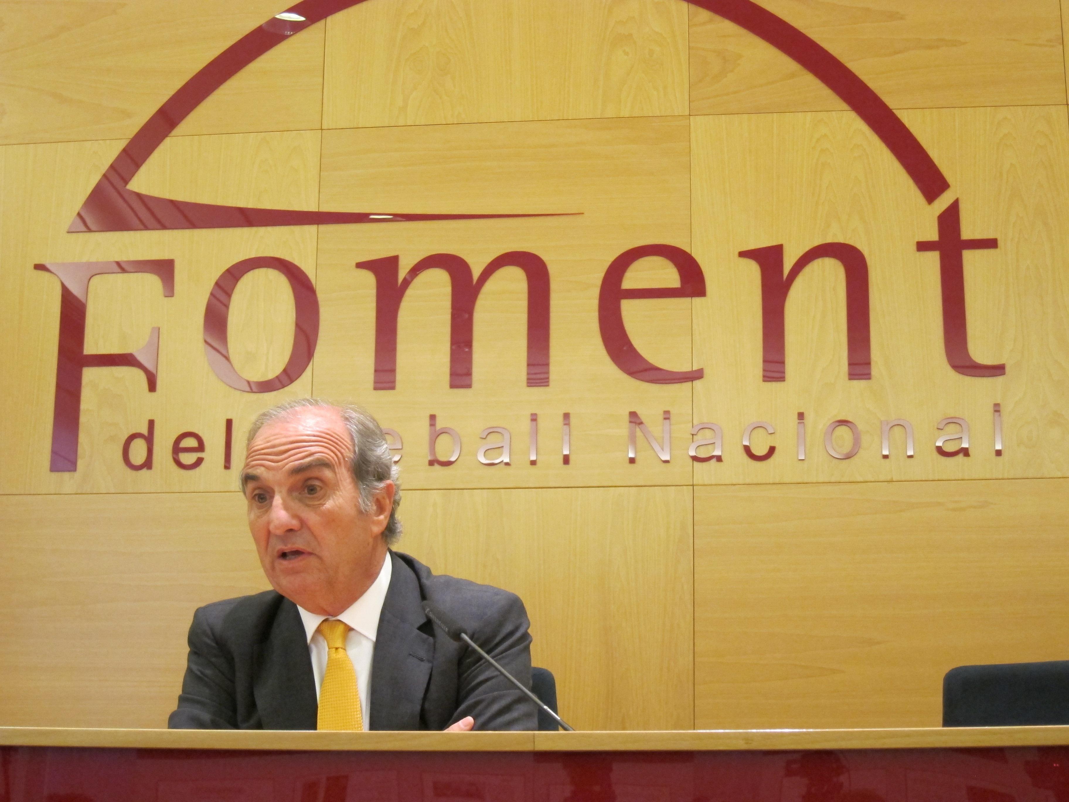 (Ampliación) Fomento del Trabajo pide un déficit para Cataluña de entre el 1,7% y el 1,96% del PIB