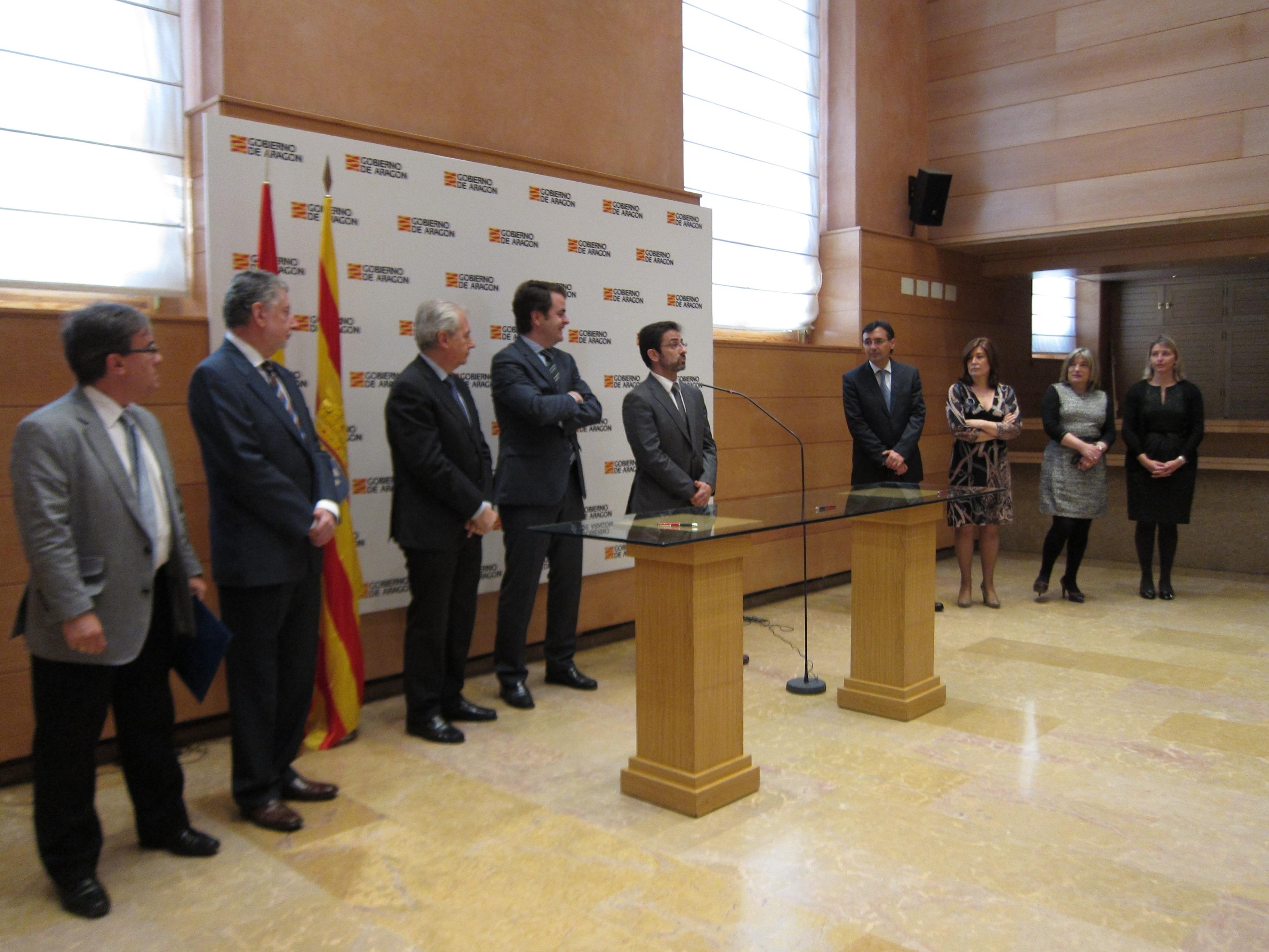 Aragón ofrecerá soluciones «en diez días» a los desahuciados que se encuentren en riesgo de exclusión