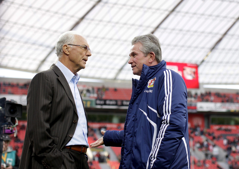 El »kaiser» Beckenbauer desaconseja a Heynckes irse al Real Madrid tras dejar el Múnich