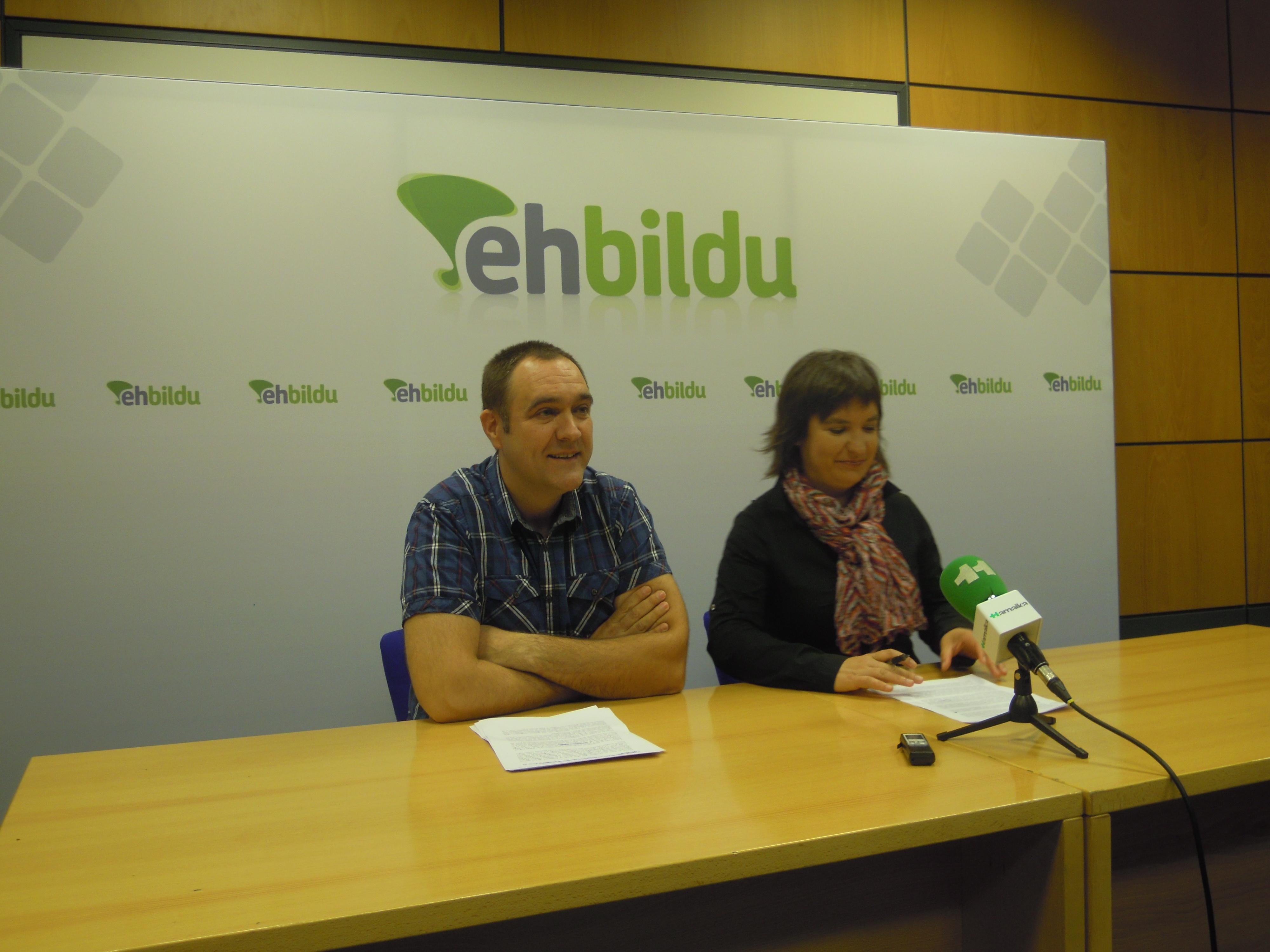 La gestión municipal pasa factura a Bildu