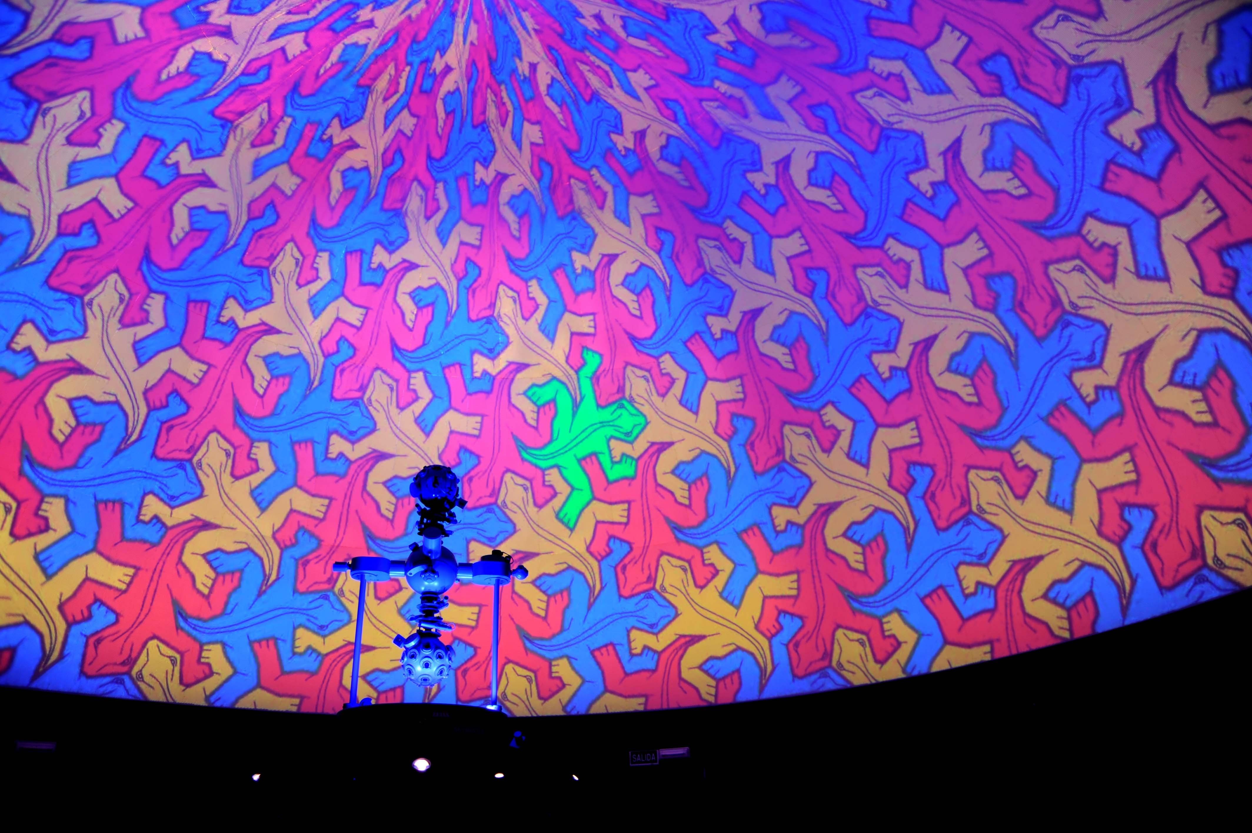 »El universo de Escher», del Planetario del Parque de las Ciencias, recibe un premio internacional