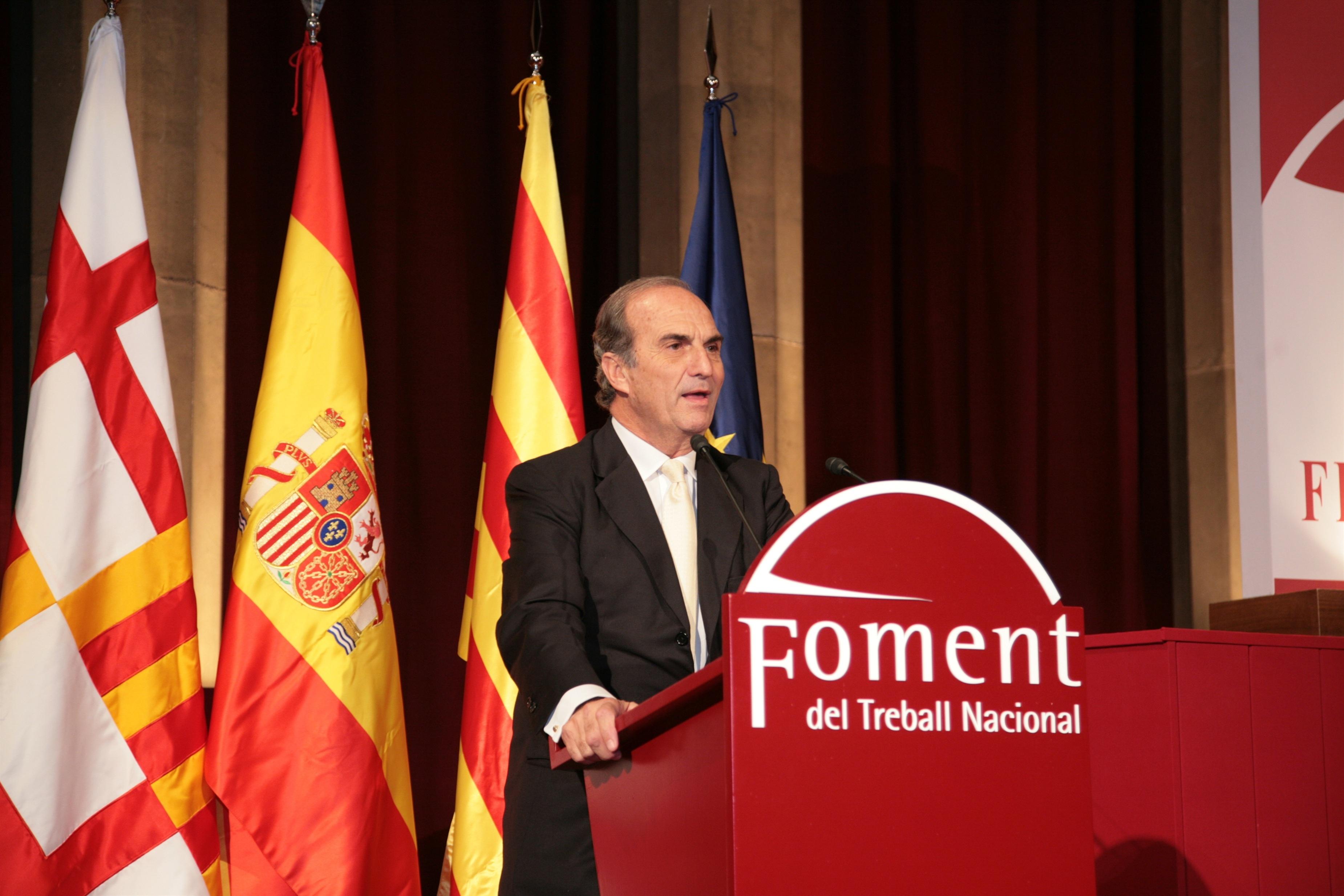 Fomento del Trabajo pide un déficit para Catalunya entre el 1,7 y el 1,96% del PIB