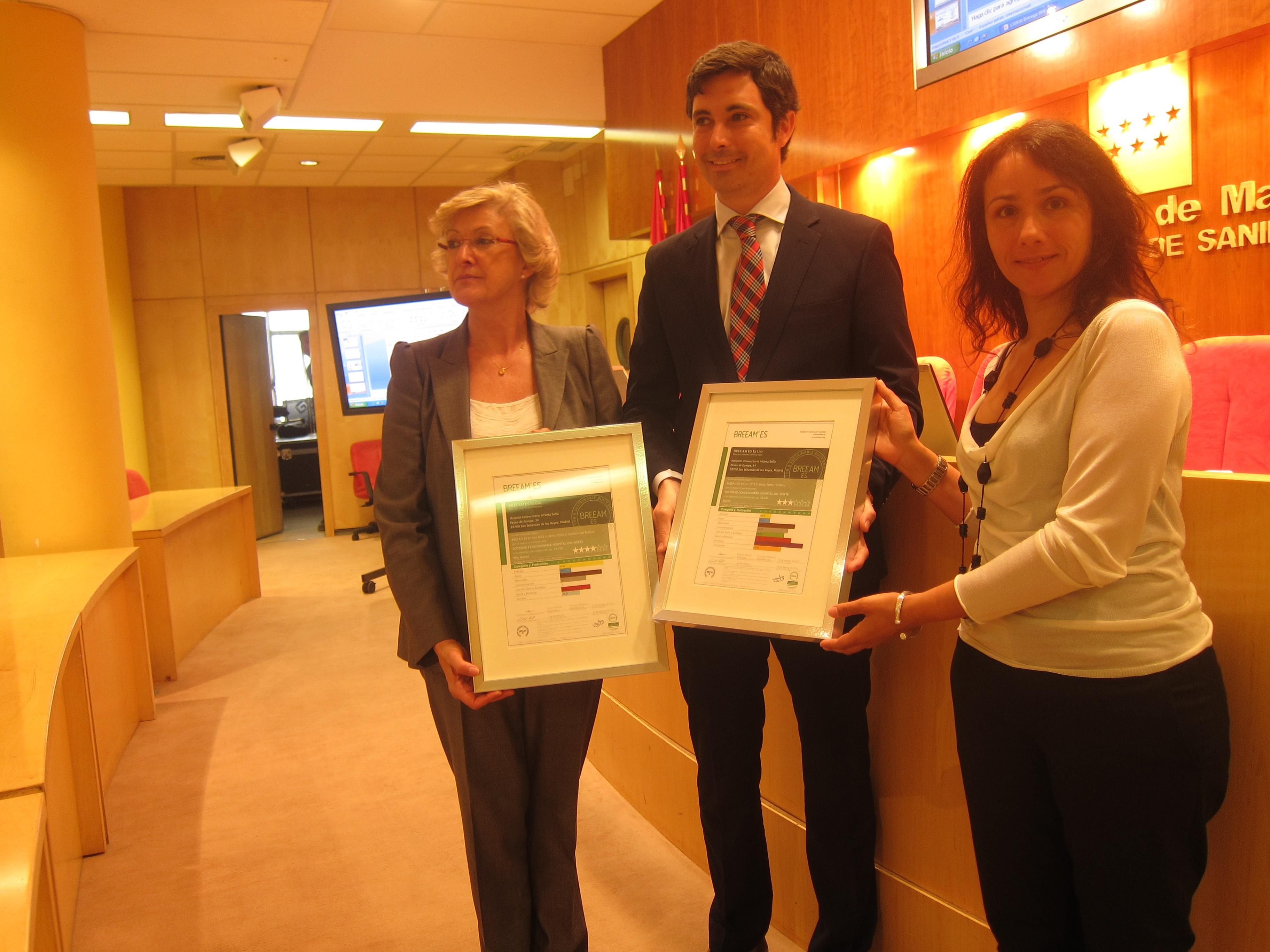 El Hospital Infanta Sofía deja de emitir 2.259 toneladas de dióxido de carbono gracias a medidas de ahorro energético