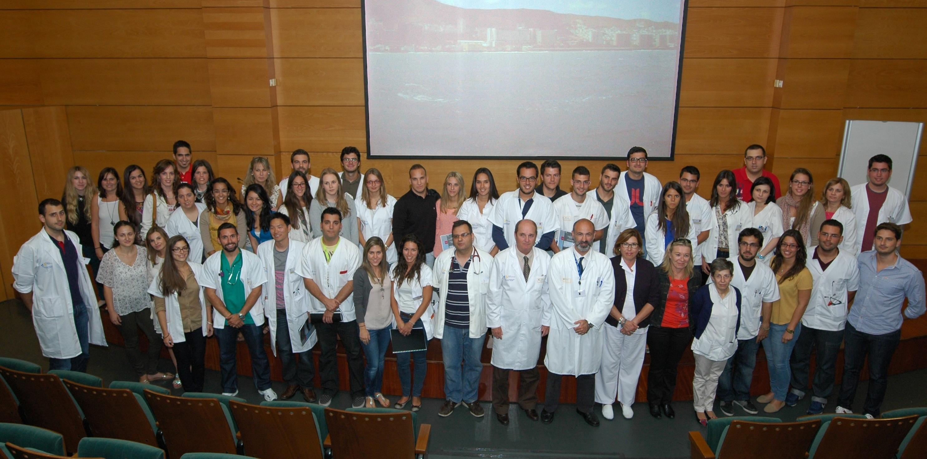 El Hospital Universitario Insular-Materno Infantil, en Gran Canaria, recibe a sus nuevos residentes
