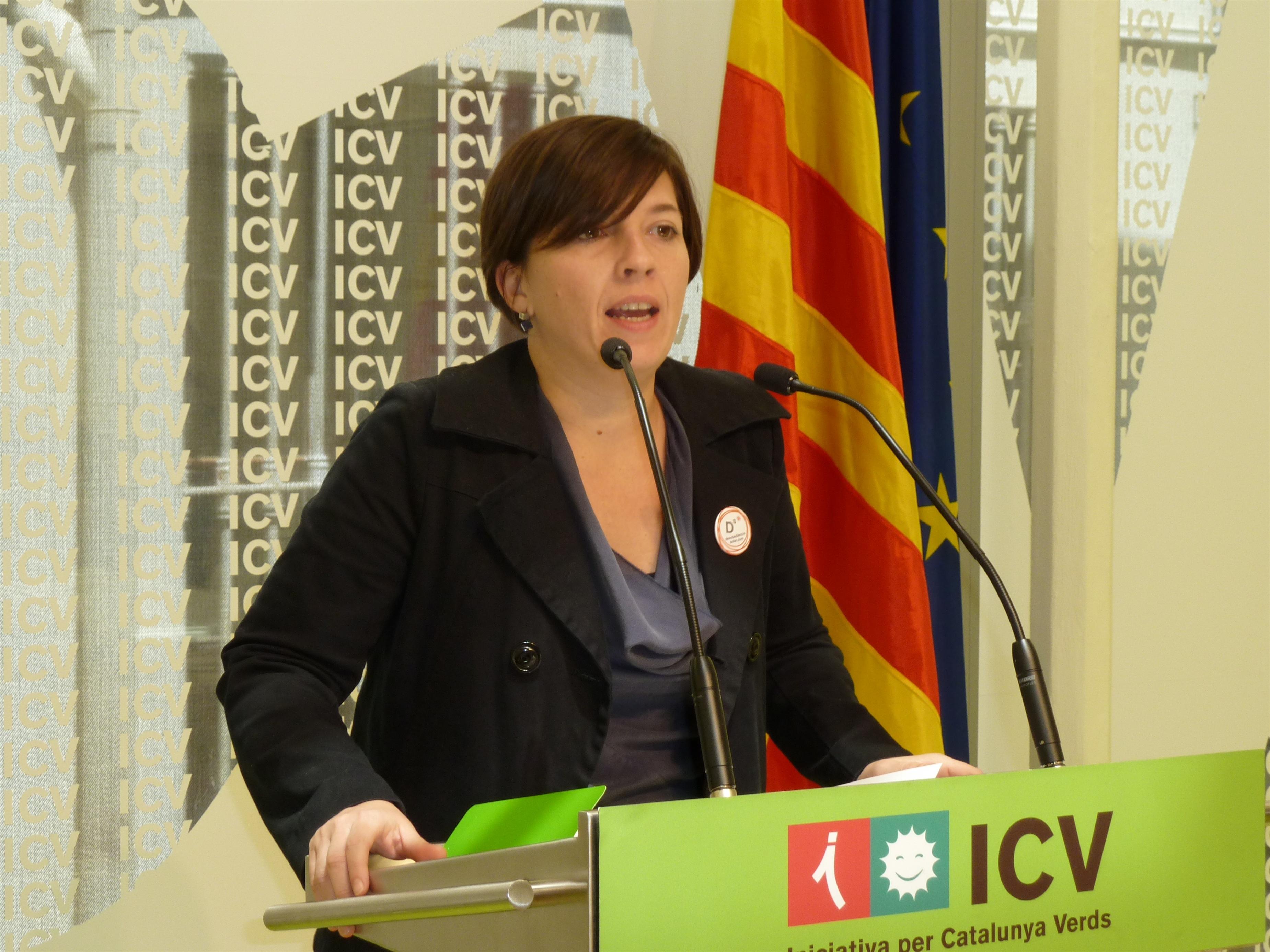 ICV, sorprendida por que hubiera una reunión agendada de Mas y el ministro de Defensa francés
