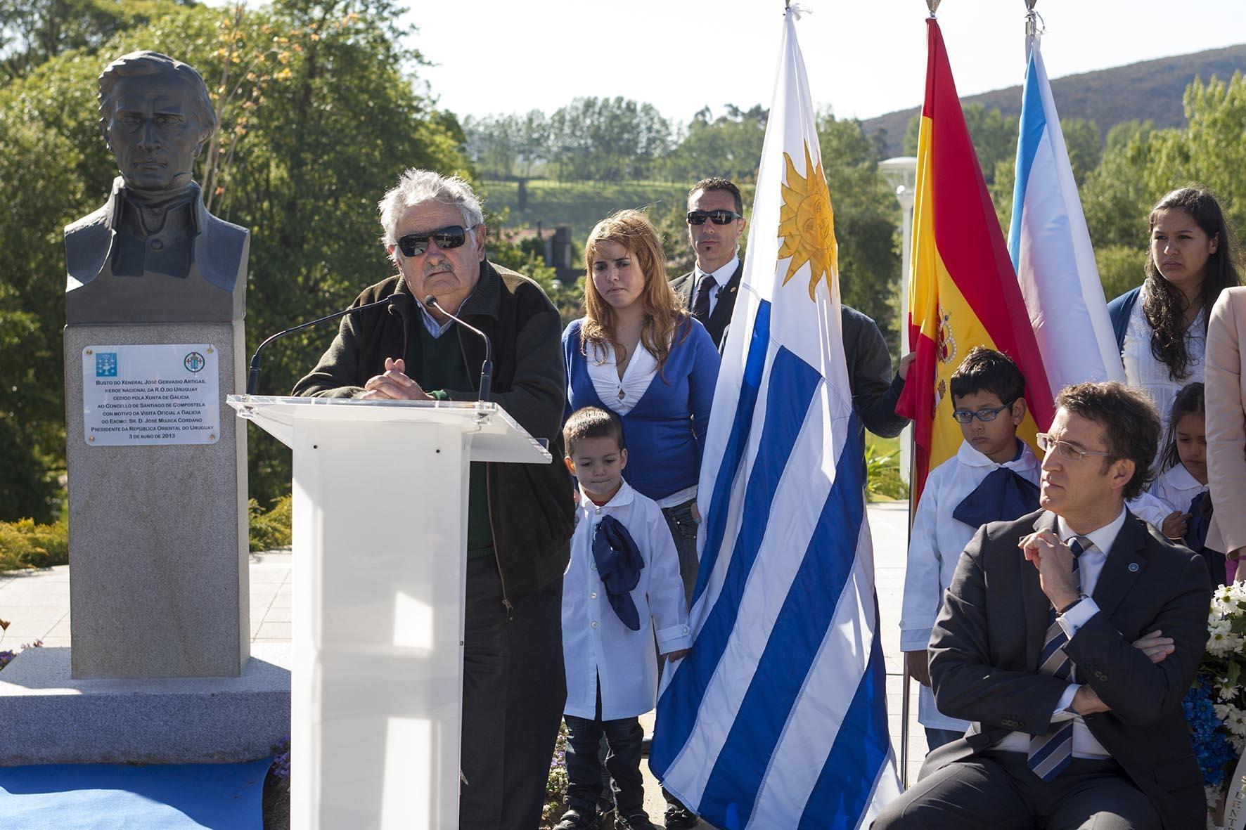 José Mujica, presidente de Uruguay: «Venimos a decirle a España que nos defienda en los acuerdos europeos»