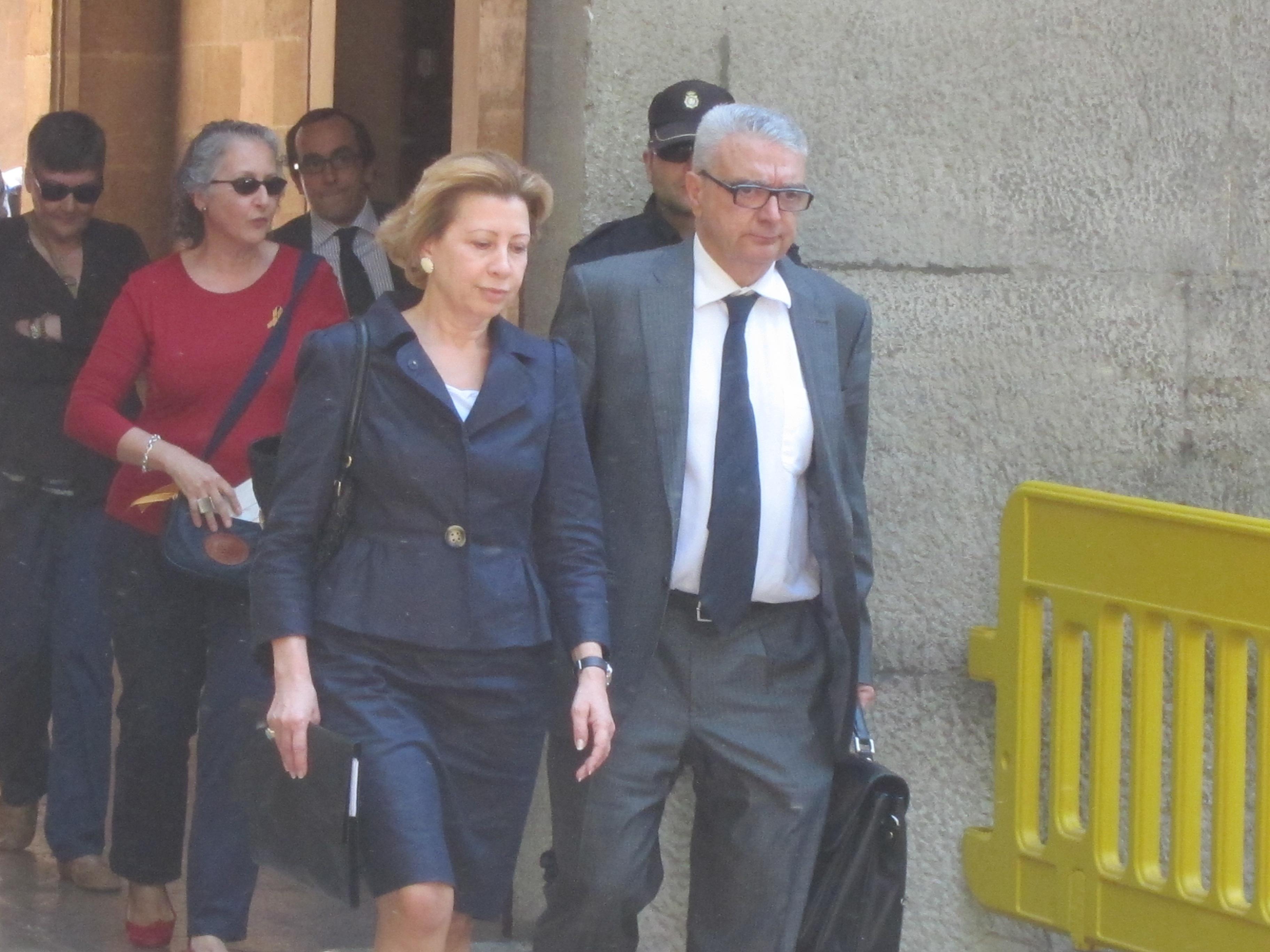 Munar renuncia a su actual abogado a dos días del juicio del caso Can Domenge