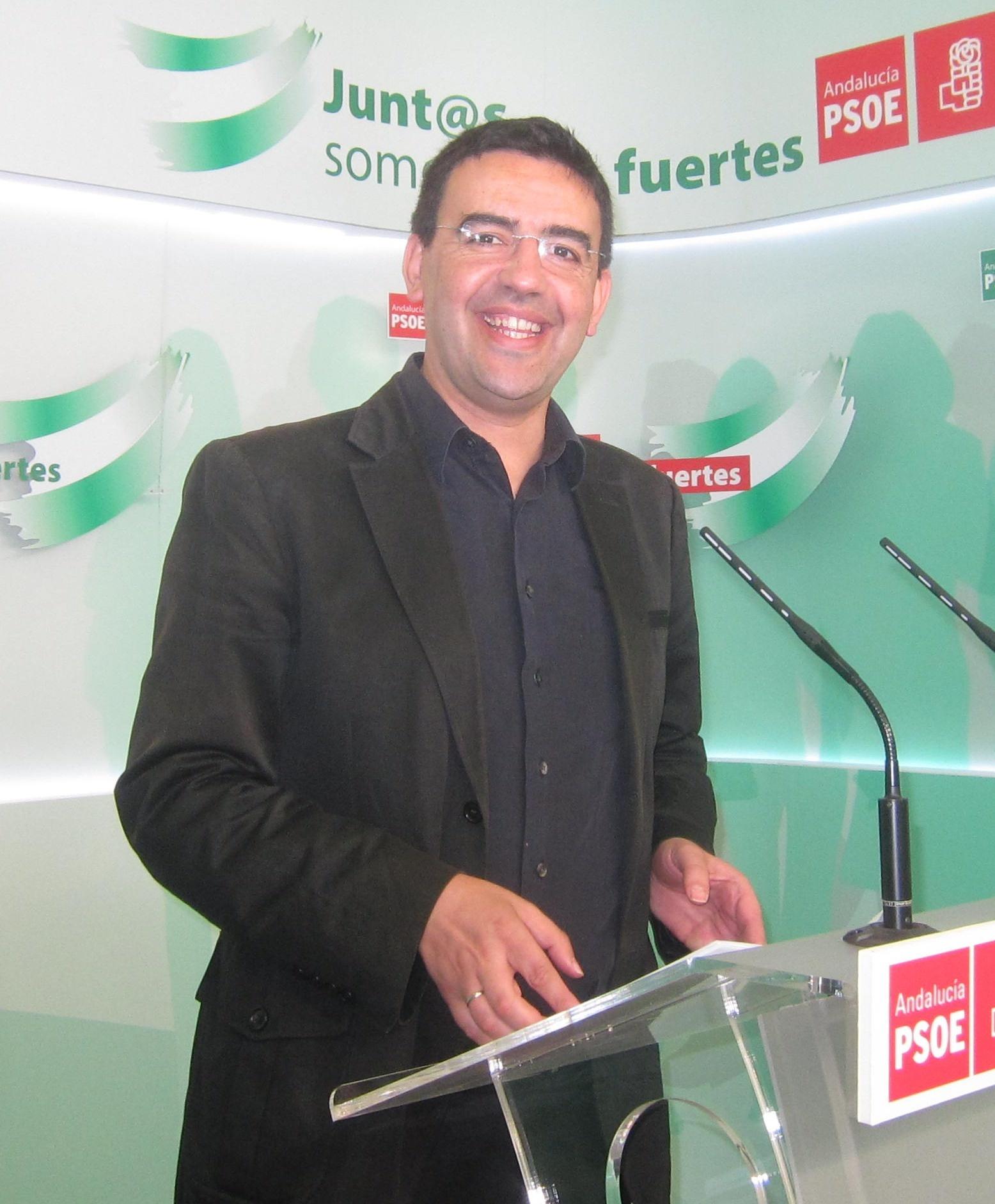 PSOE-A cree que PP-A se «precipita» saliendo del Pacto por Andalucía y sospecha que Cospedal ha «impuesto su criterio»