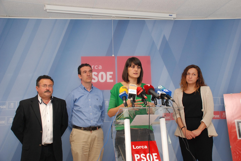 El PSOE pedirá que el Plan Lorca+ tenga rango de ley «para dar confianza a los lorquinos»