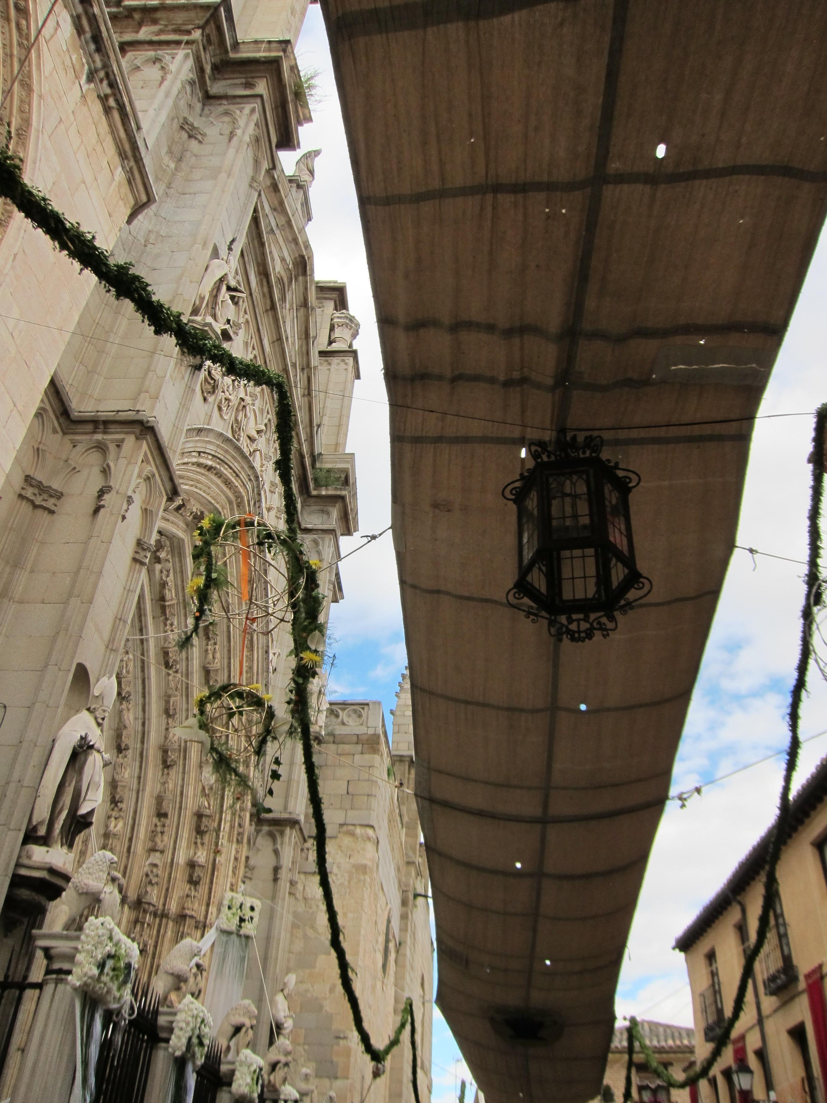 Page, «muy contento» con el nivel de participación de las actividades del Corpus de Toledo y el «aluvión» de visitantes
