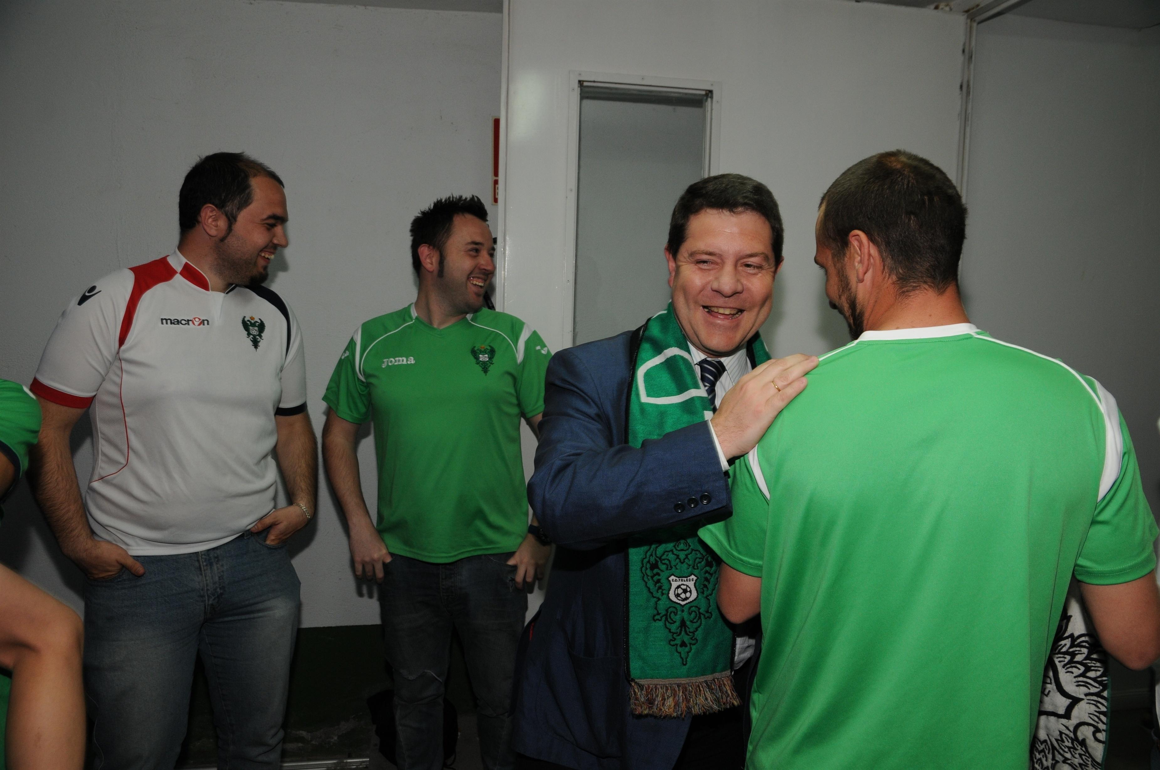 El alcalde de Toledo, en conversaciones con el CD Toledo para celebrar «de la mejor manera» su ascenso a 2ª División B